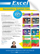 Excel Secondary English Catalogue 2018