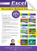 Excel Secondary Science Catalogue 2018