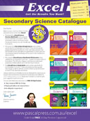 Excel Secondary Science Catalogue 2016