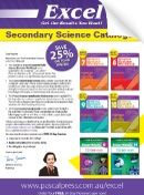 Excel Secondary Science Catalogue 2017