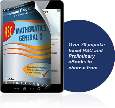 Over 70 popular Excel HSC and Preliminary eBooks to choose from