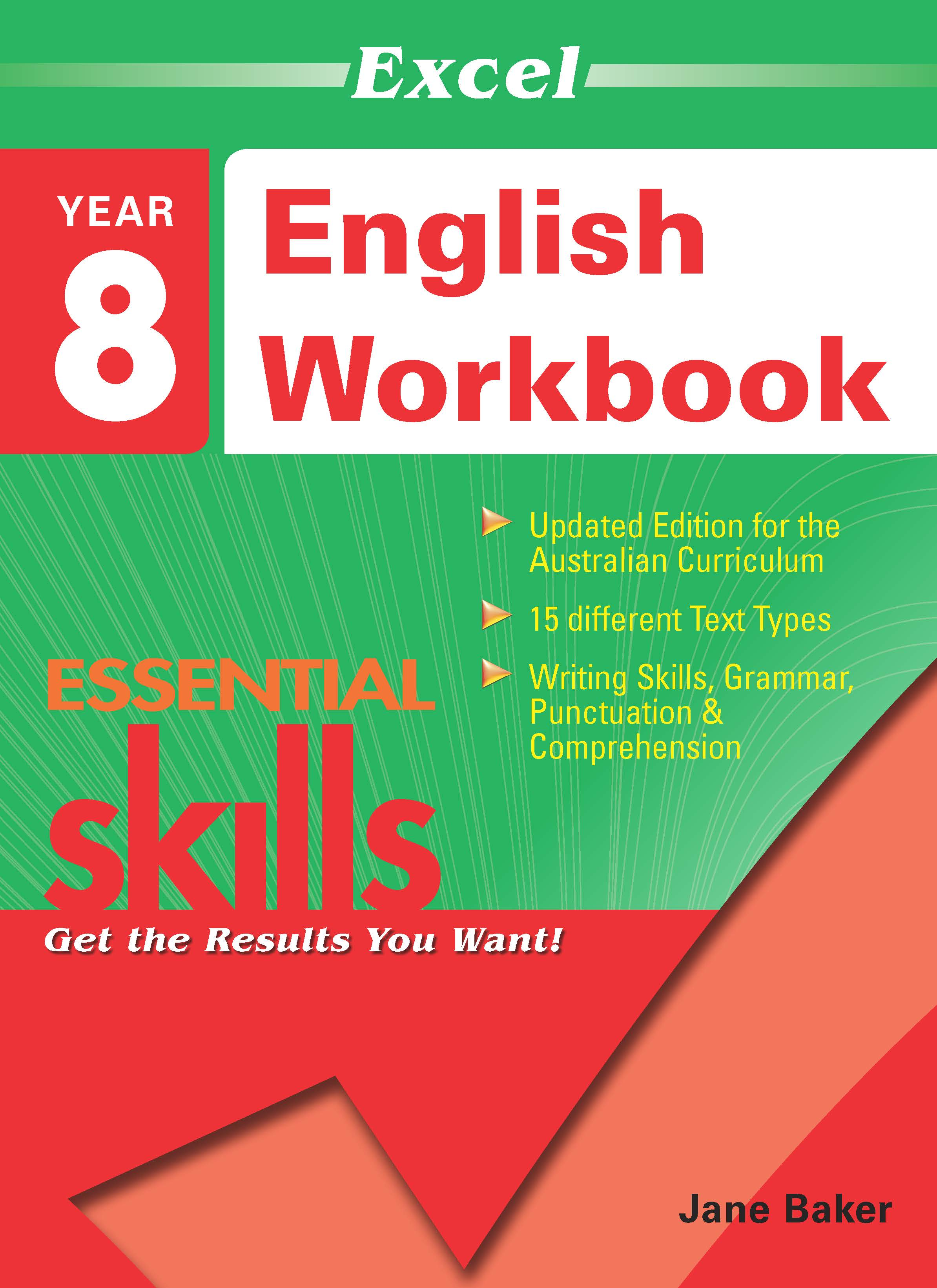 Excel Essential Skills: English Workbook Year 8