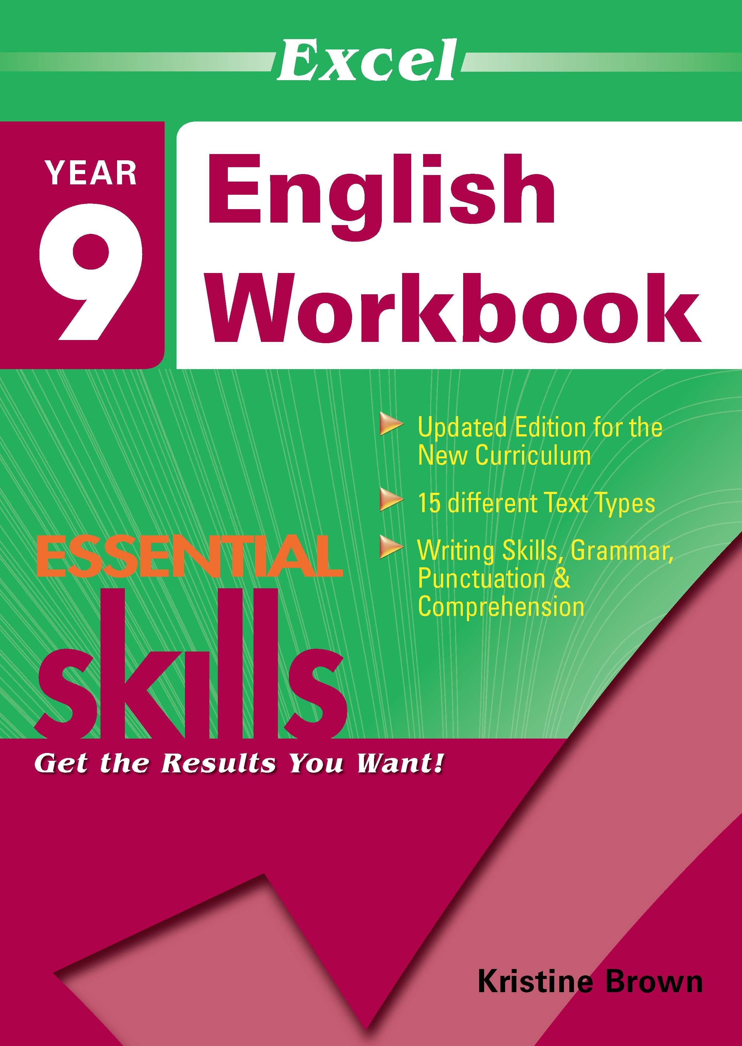Excel Essential Skills: English Workbook Year 9