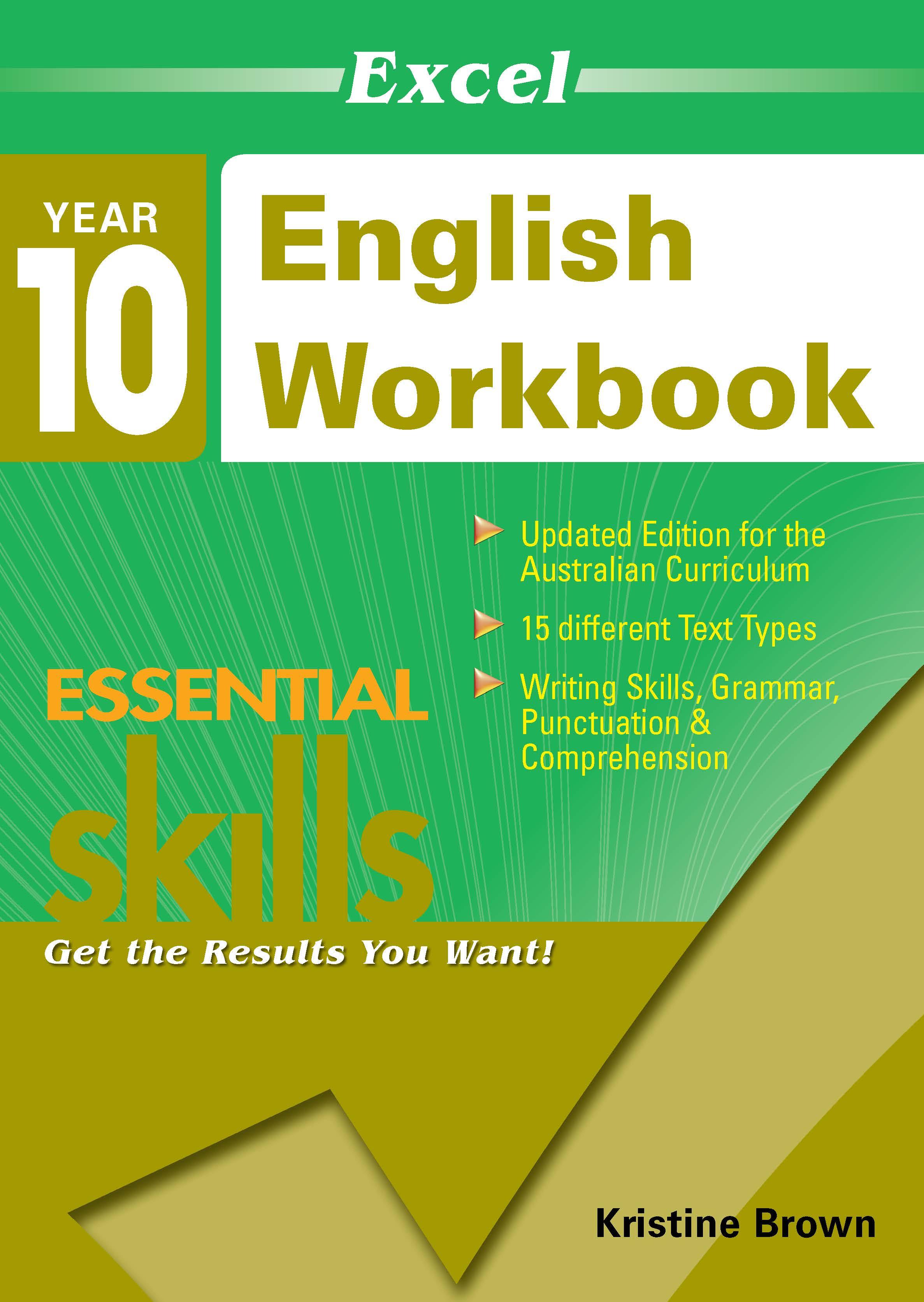 Excel Essential Skills: English Workbook Year 10