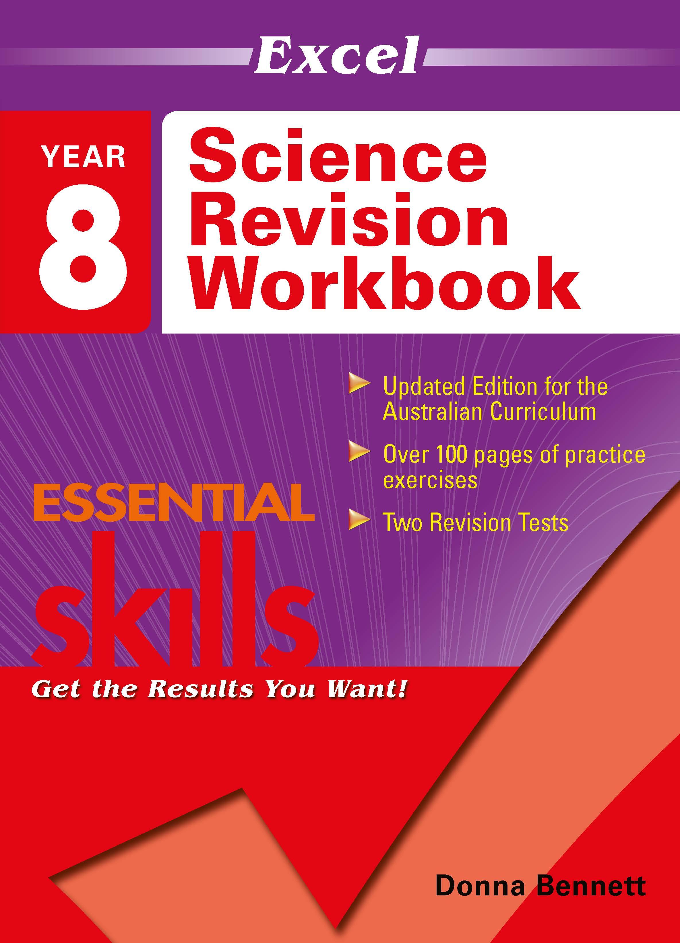 Excel Essential Skills: Science Revision Workbook Year 8