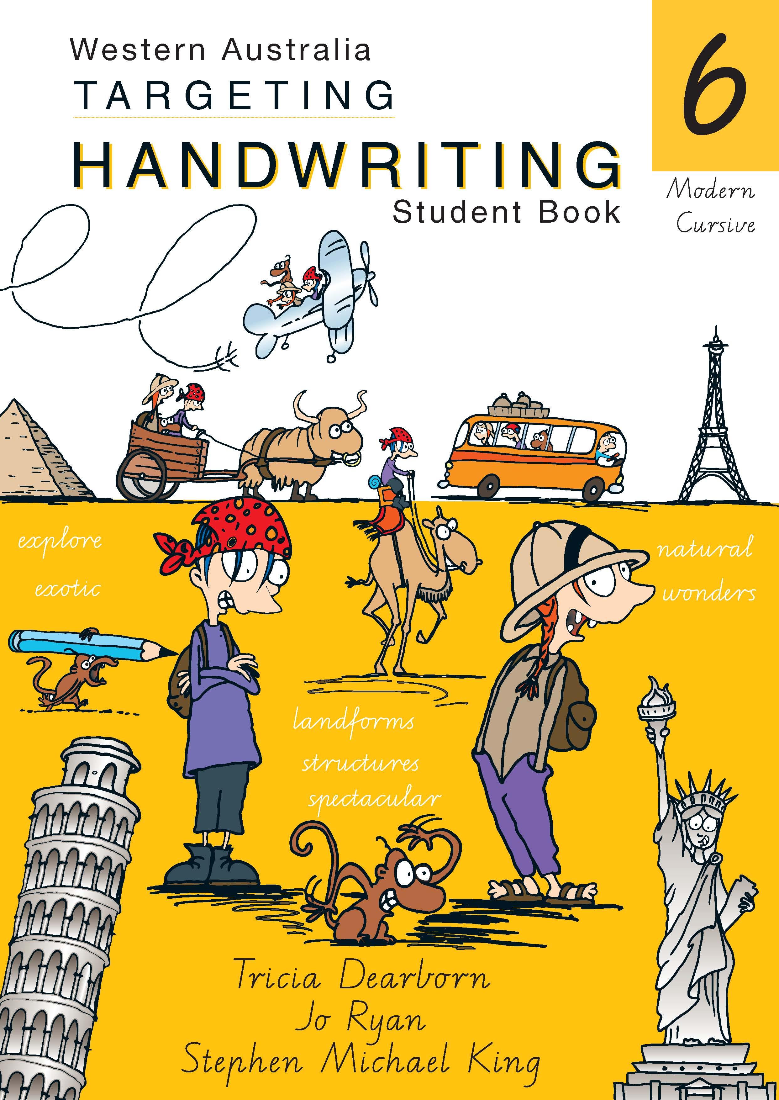 Picture of WA Targeting Handwriting Student Book Year 6