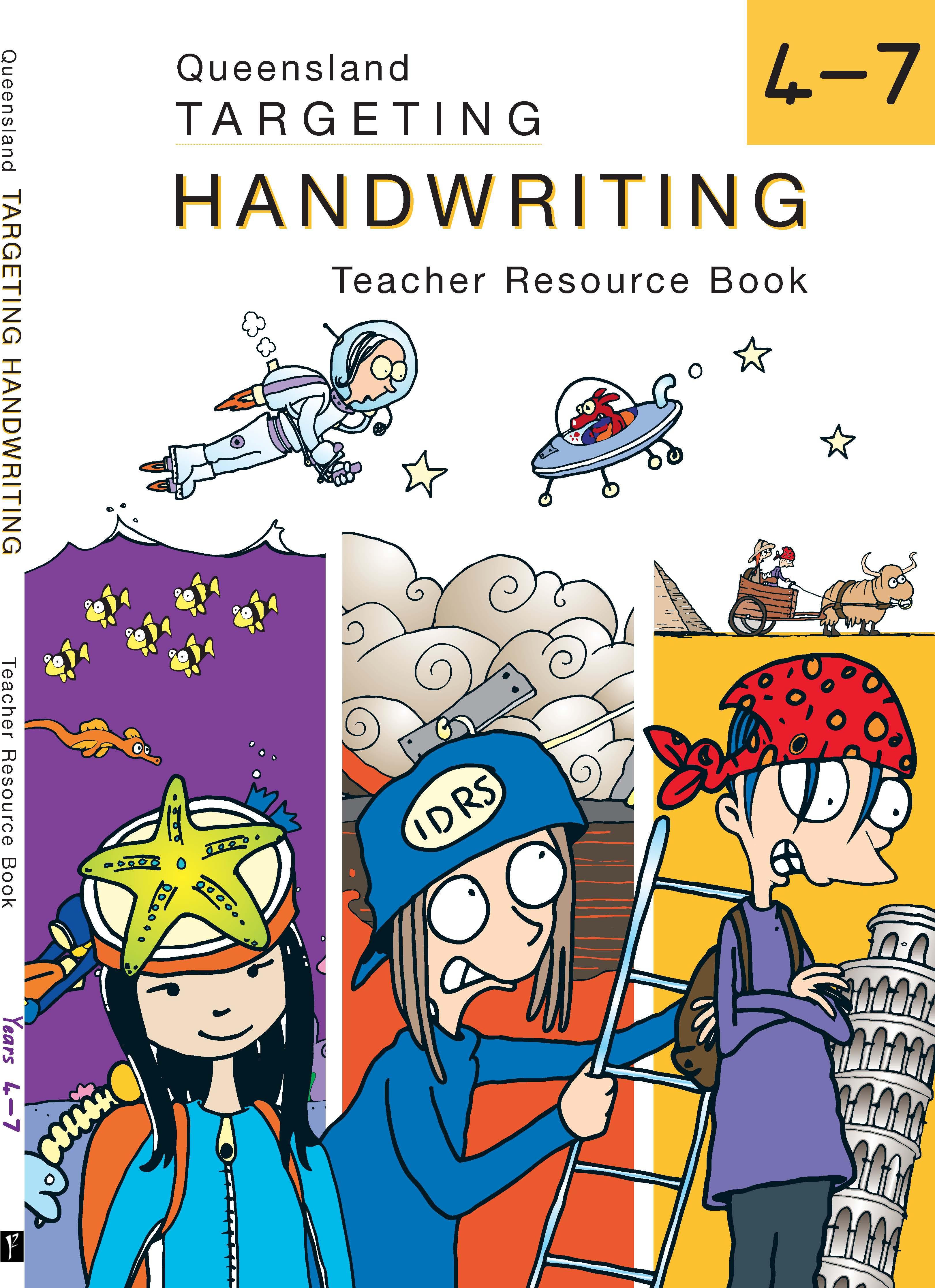 QLD Targeting Handwriting Teacher Resource Book Years 4-7
