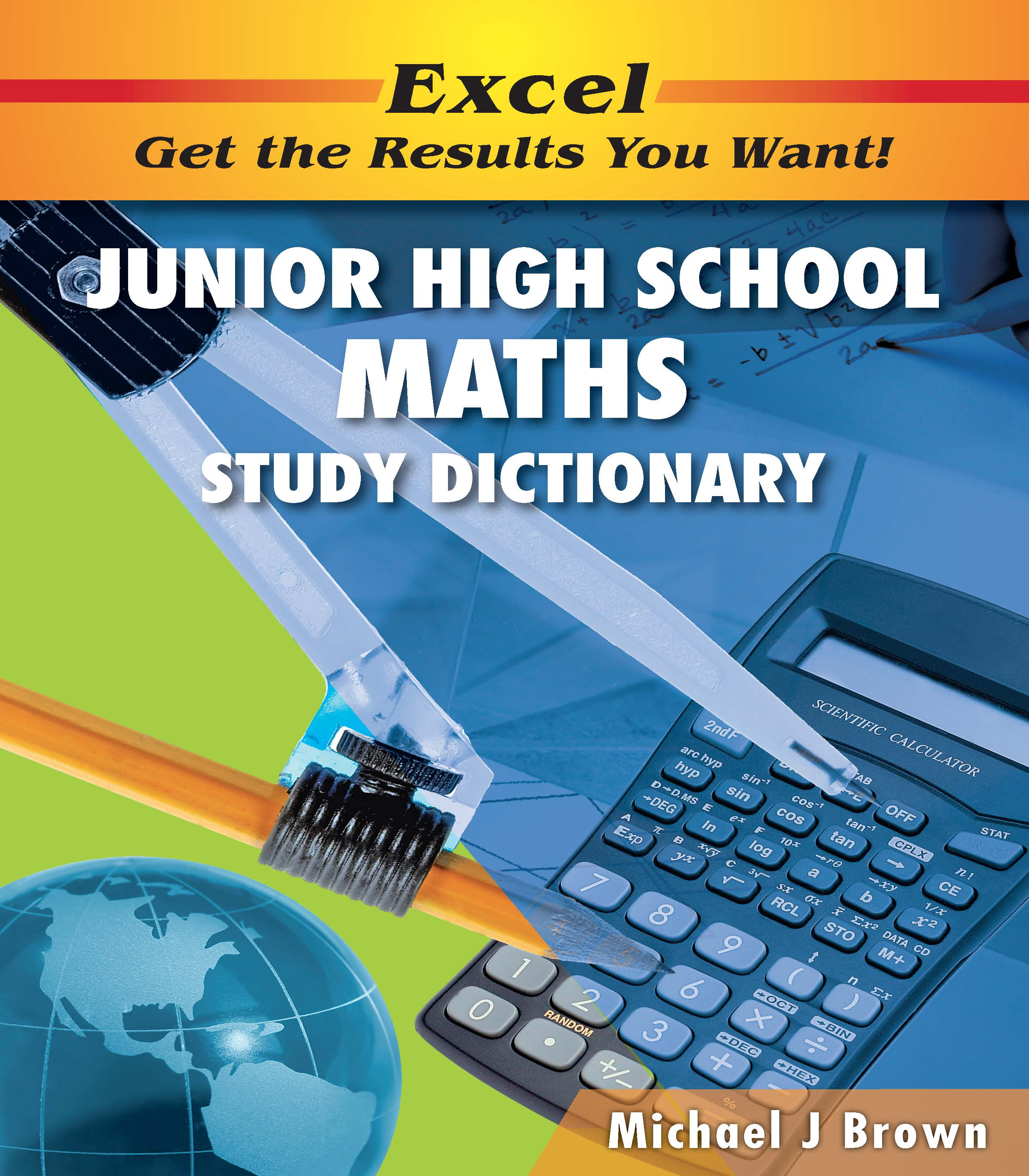 Excel Junior High School Maths Study Dictionary Years 7-10