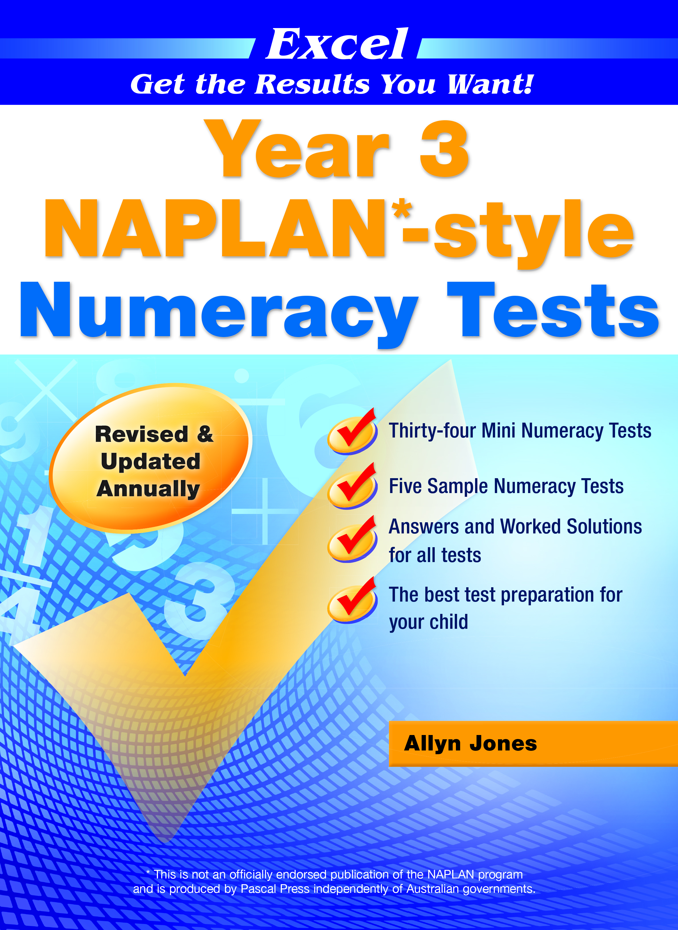 Excel NAPLAN*-style Numeracy Tests Year 3