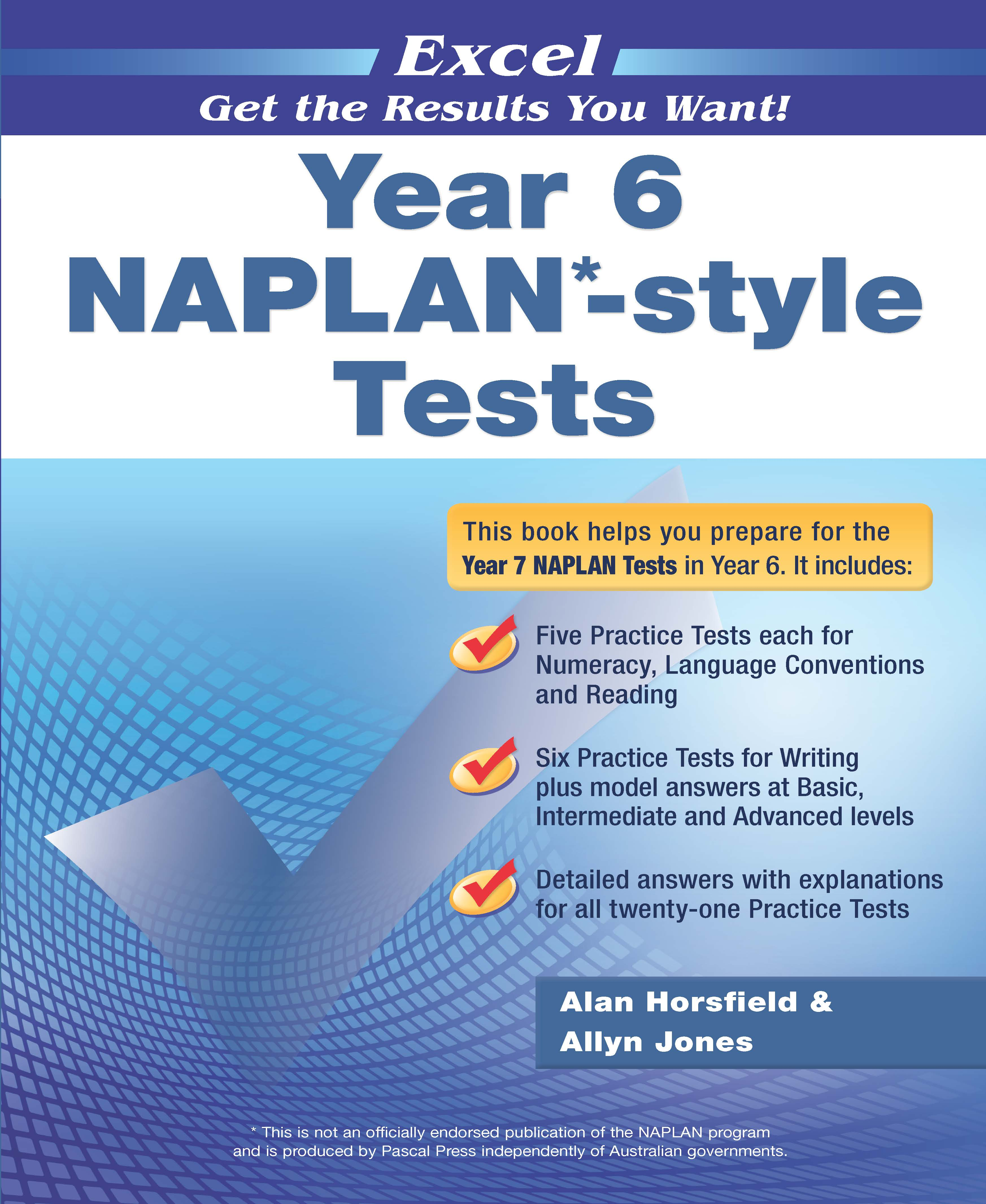 Excel NAPLAN*-style Tests Year 6