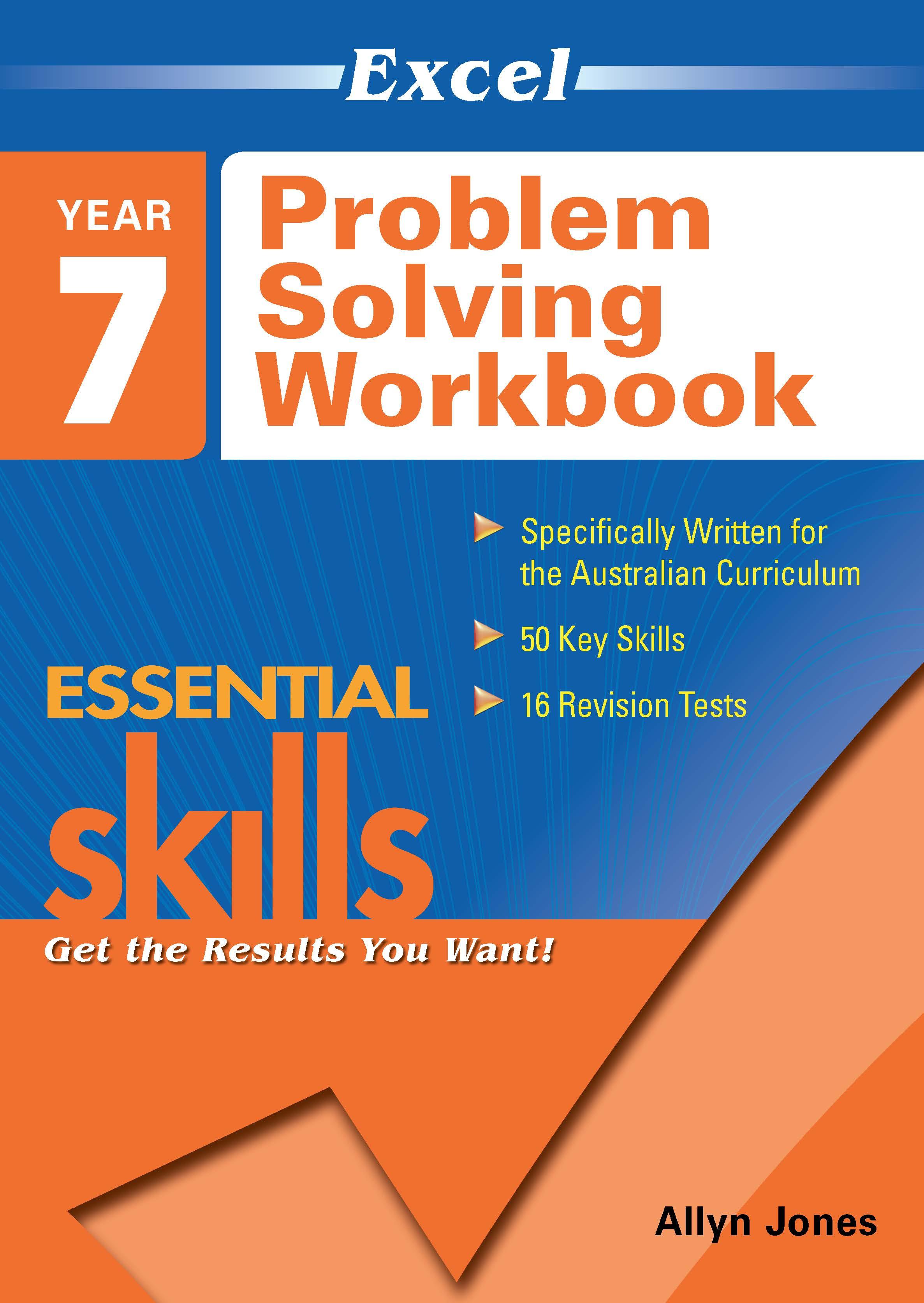 Excel Essential Skills: Problem Solving Workbook Year 7