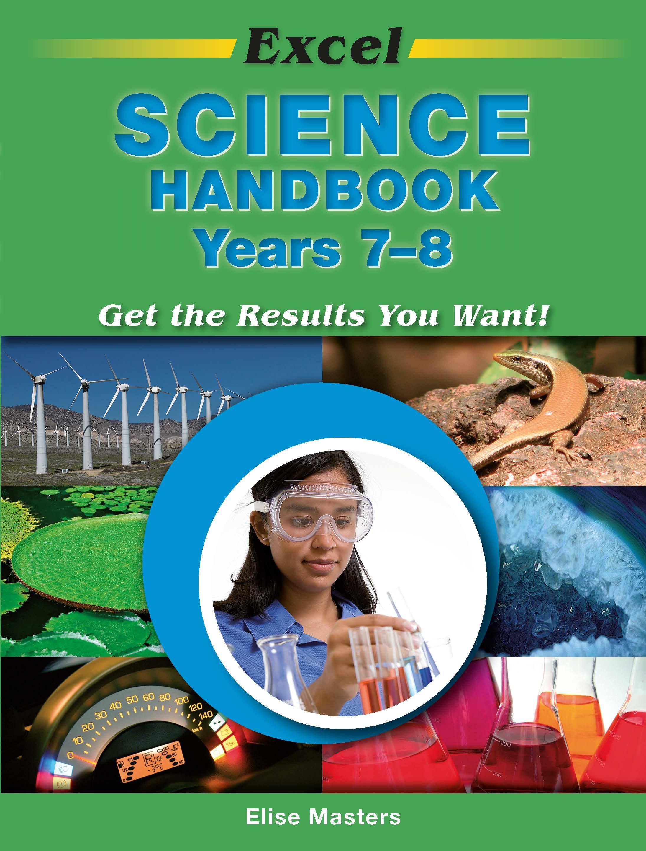 Excel Science Handbook Years 7-8