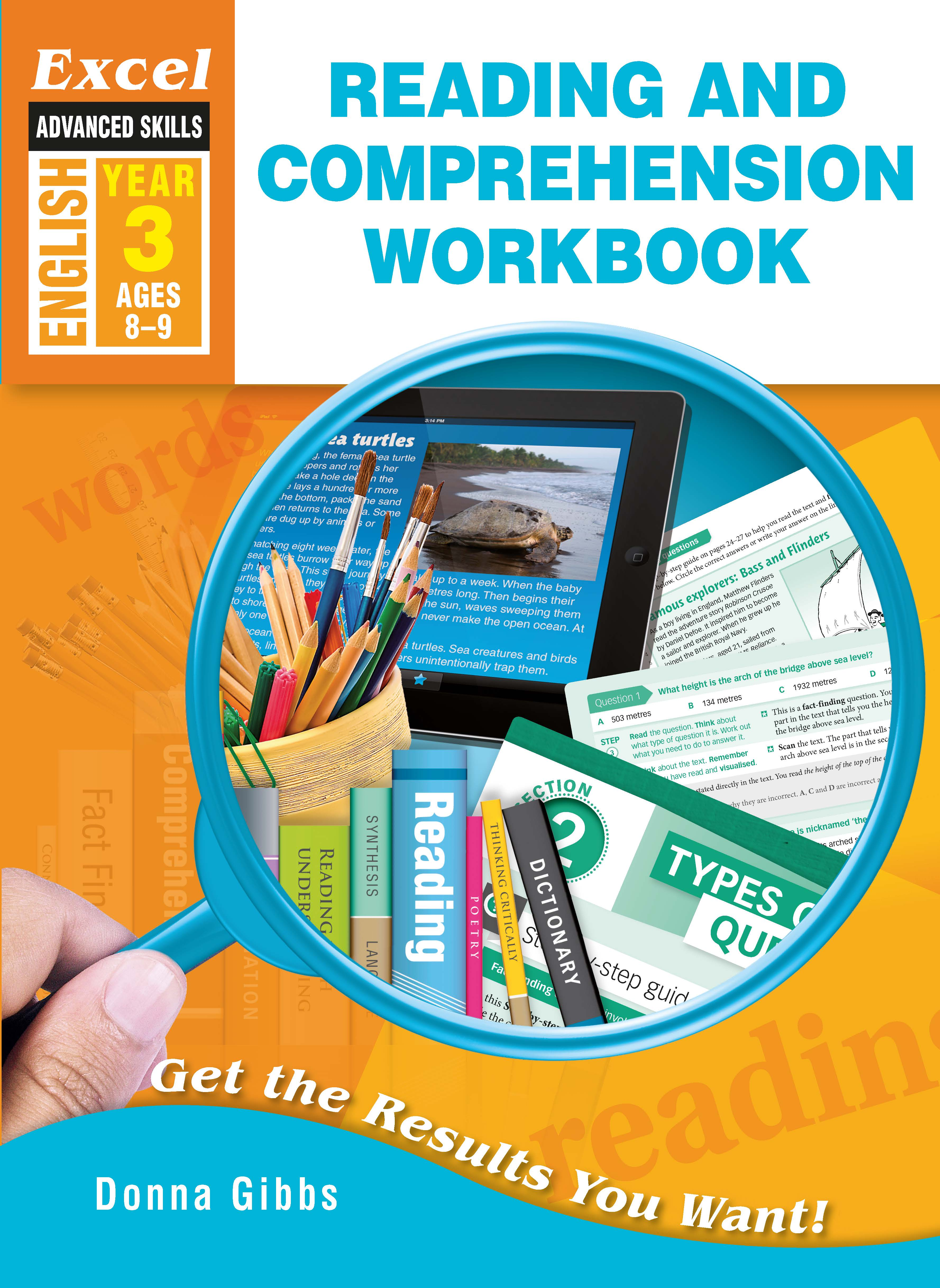Excel Advanced Skills Workbook: Reading and Comprehension Workbook Year 3