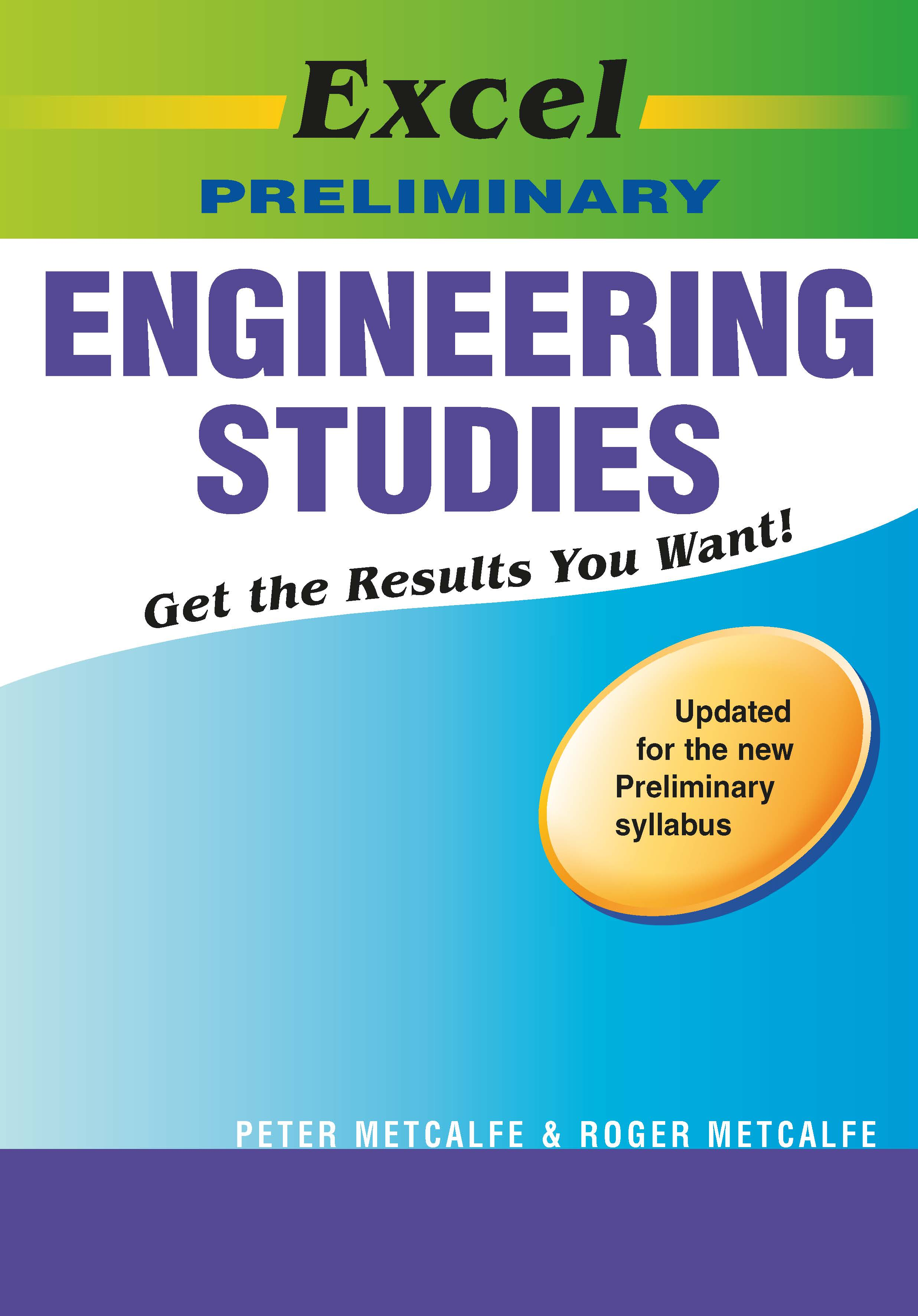 Excel Study Guide: Preliminary Engineering Studies Year 11