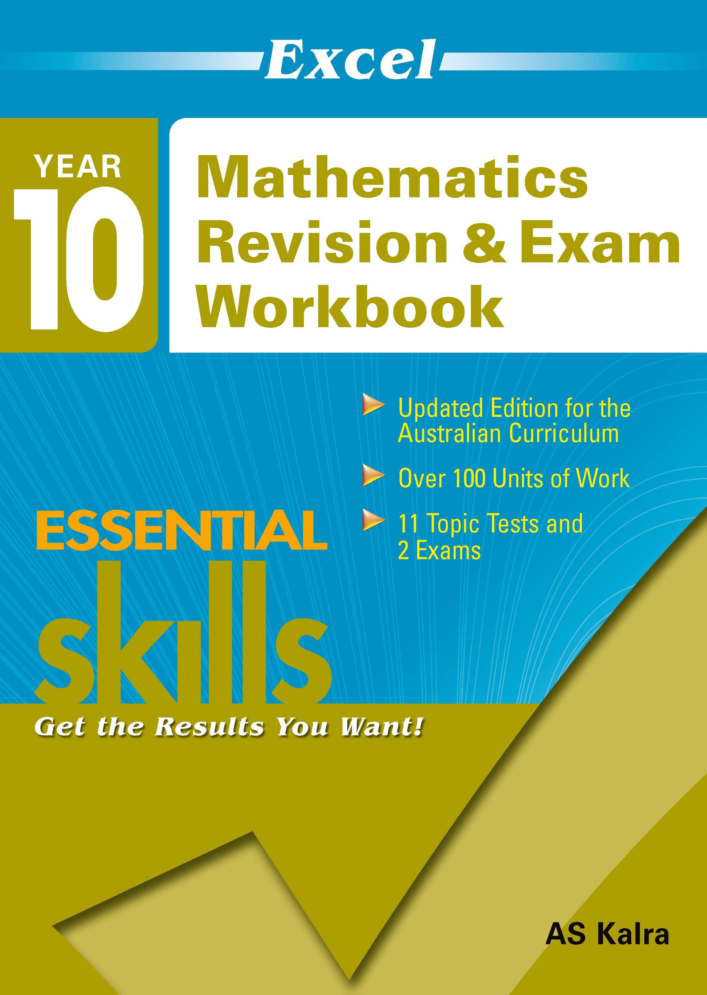 Excel Essential Skills: Mathematics Revision & Exam Workbook Year 10