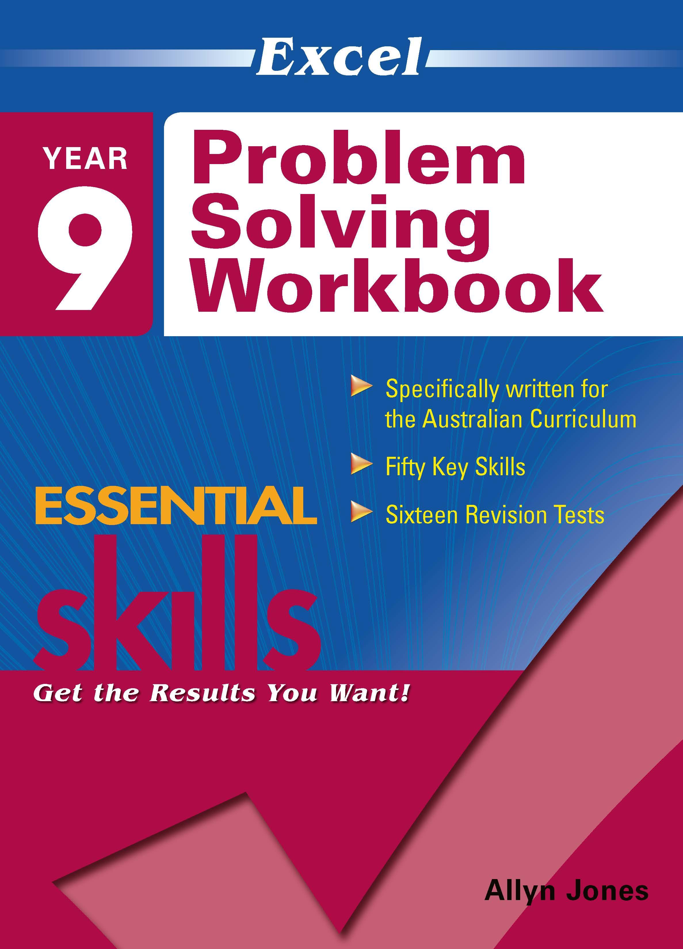 Excel Essential Skills: Problem Solving Workbook Year 9