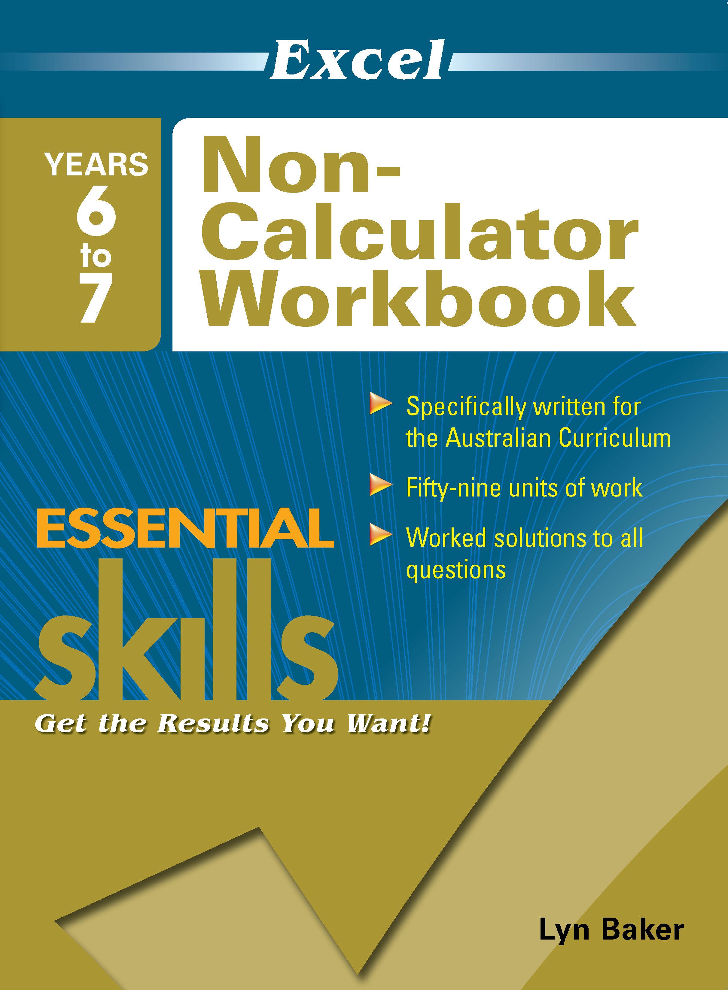 Excel Essential Skills: Non-Calculator Workbook Years 6-7