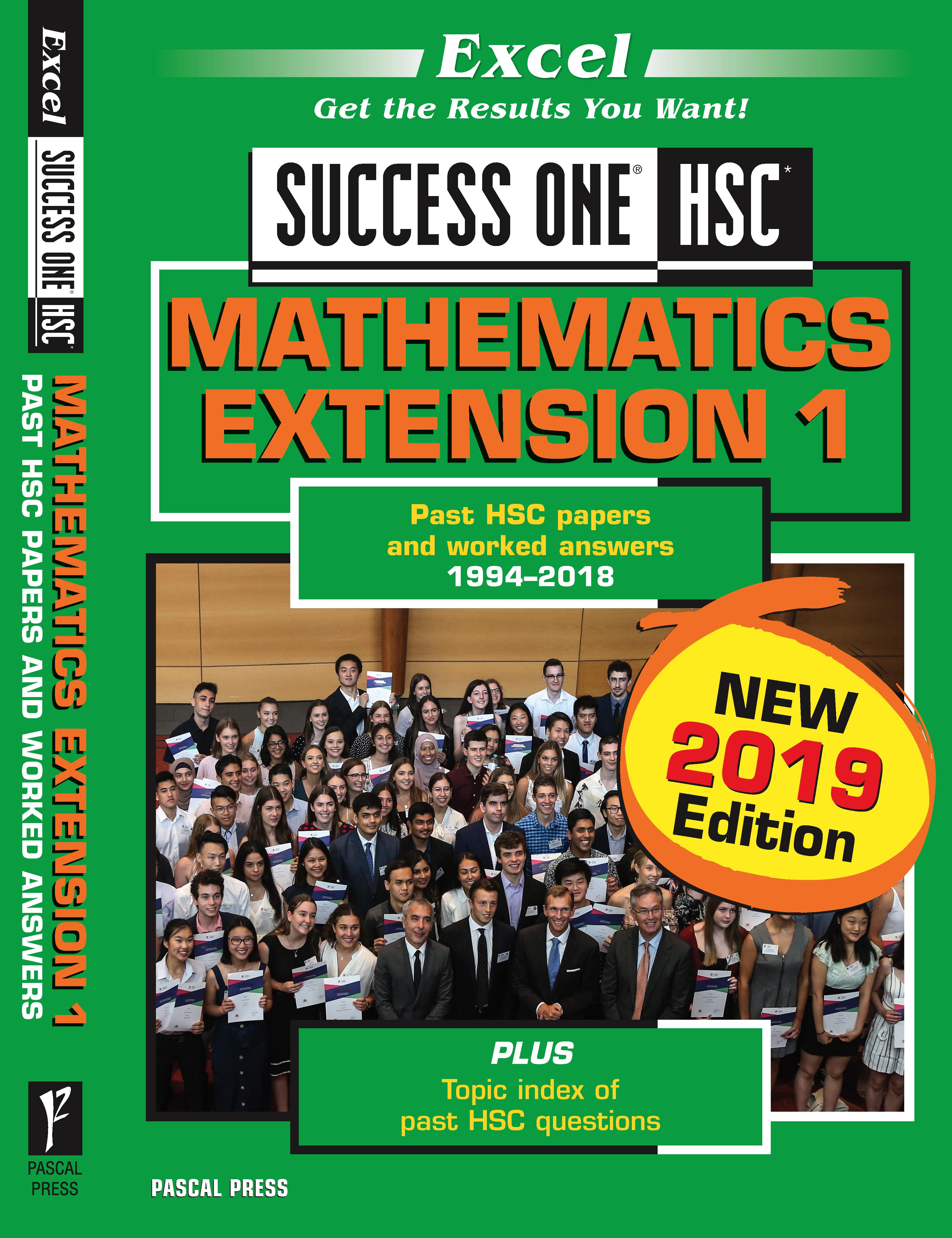 Excel Success One HSC Maths Extension 1
