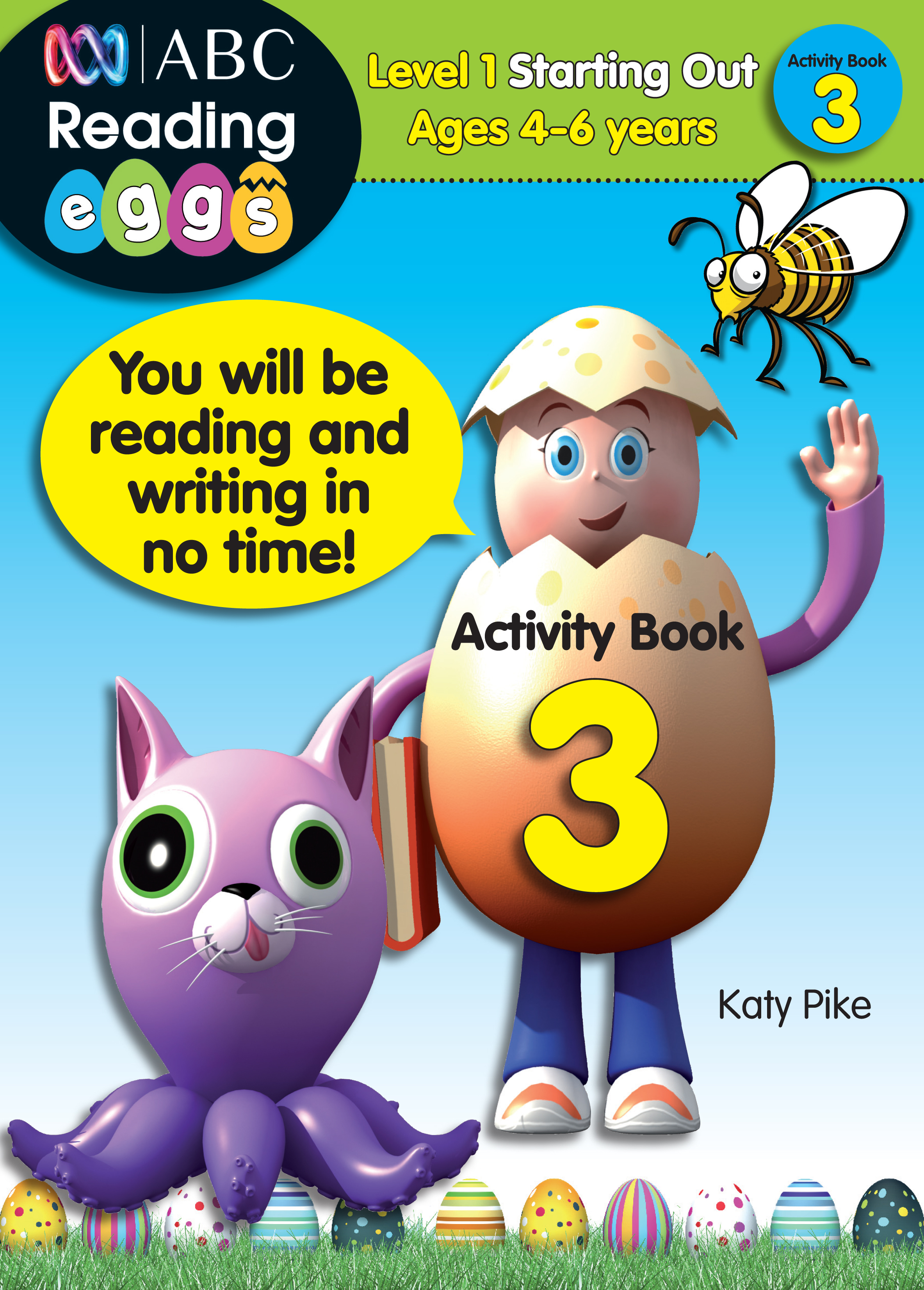ABC Reading Eggs Level 1 Starting Out Activity Book 3 Ages 4-6