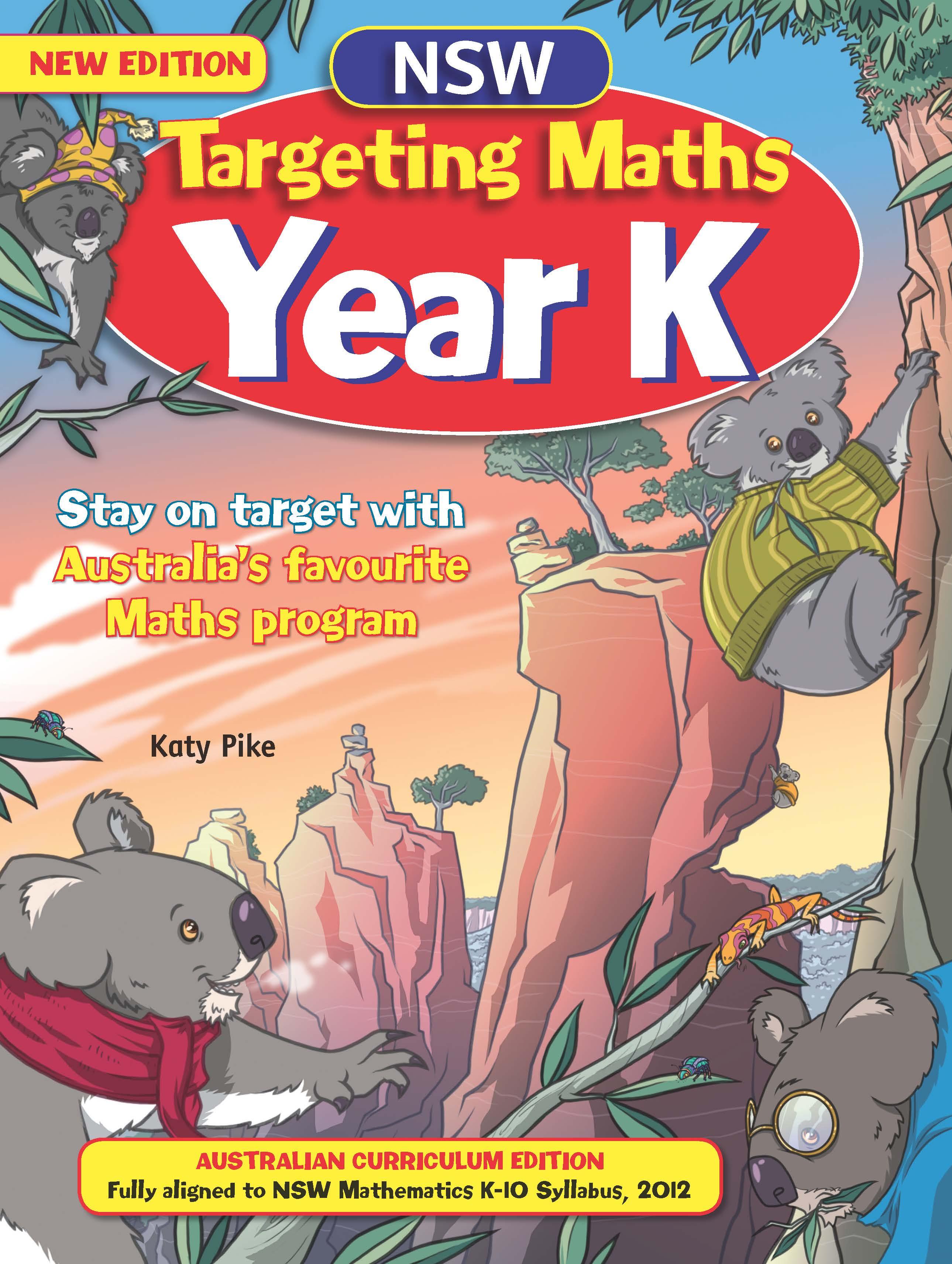 NSW Targeting Maths Australian Curriculum Edition Student Book Year K