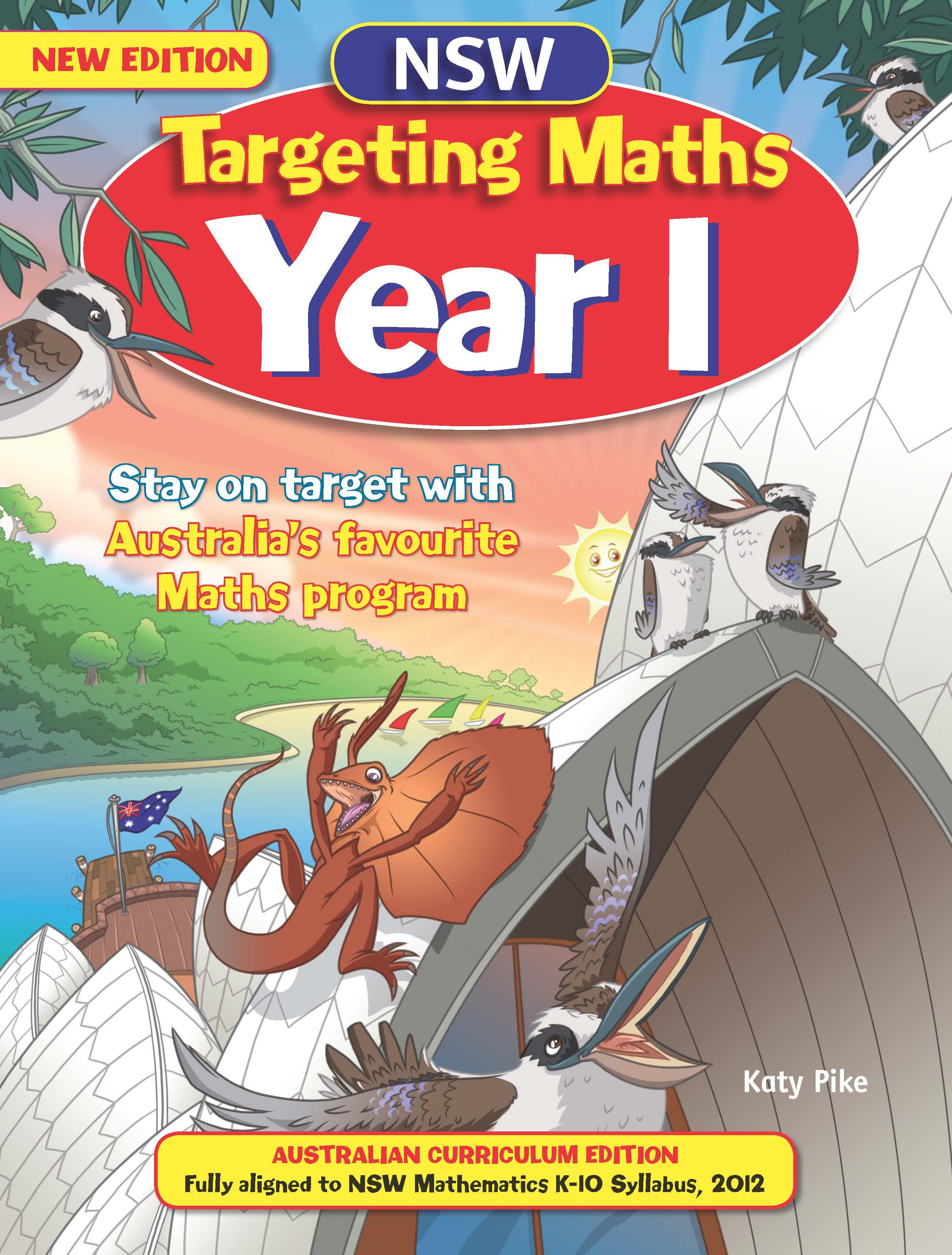 NSW Targeting Maths Australian Curriculum Edition Student Book Year 1