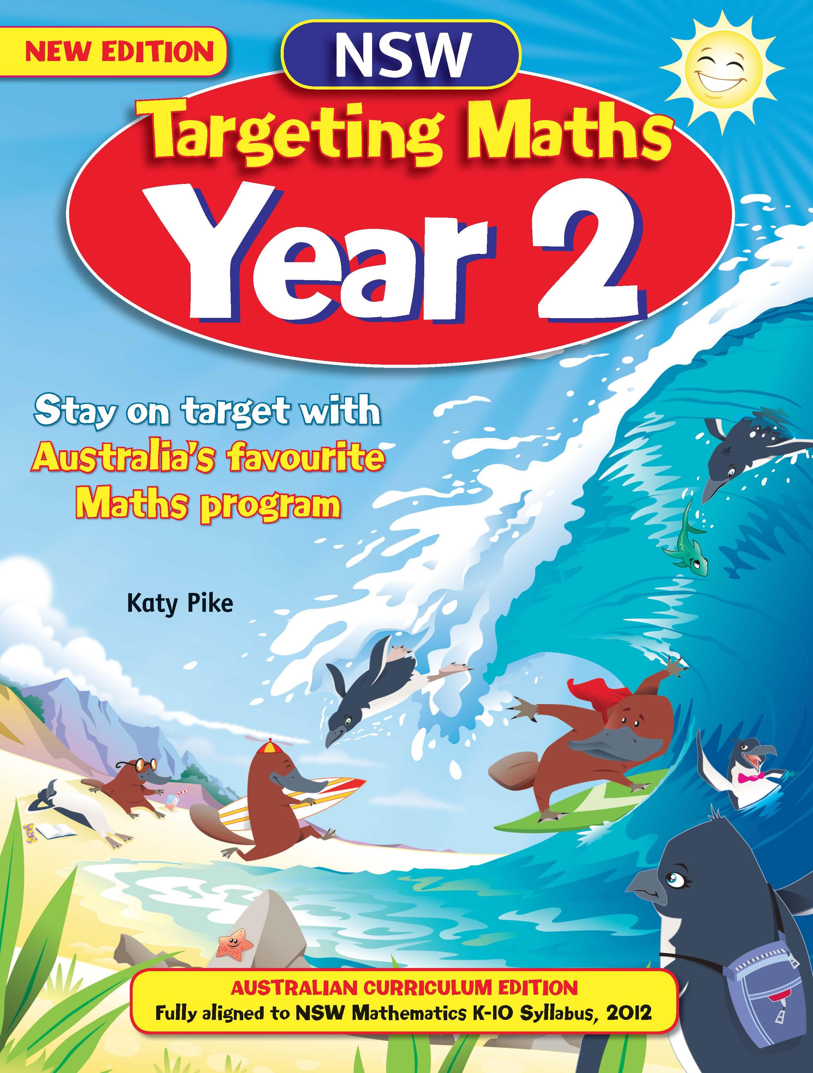 NSW Targeting Maths Australian Curriculum Edition Student Book Year 2