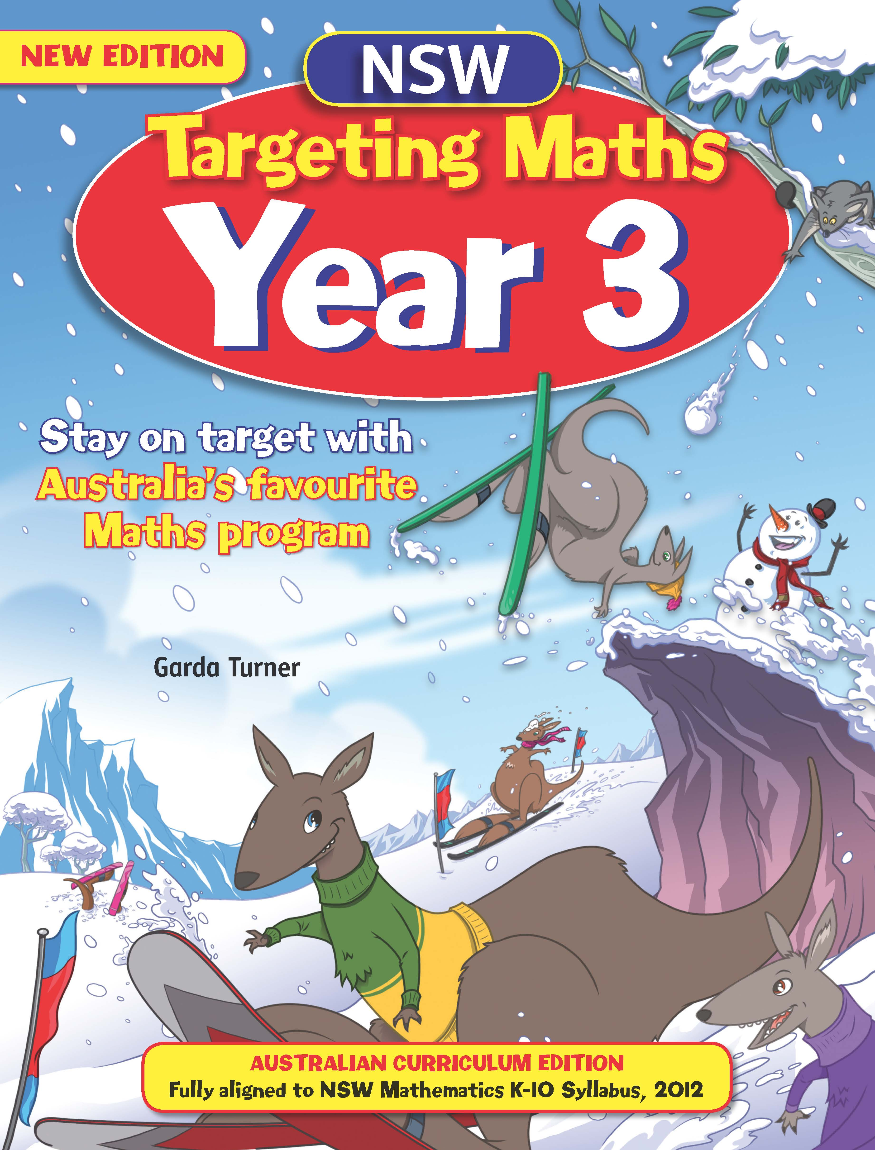 NSW Targeting Maths Australian Curriculum Edition Student Book Year 3