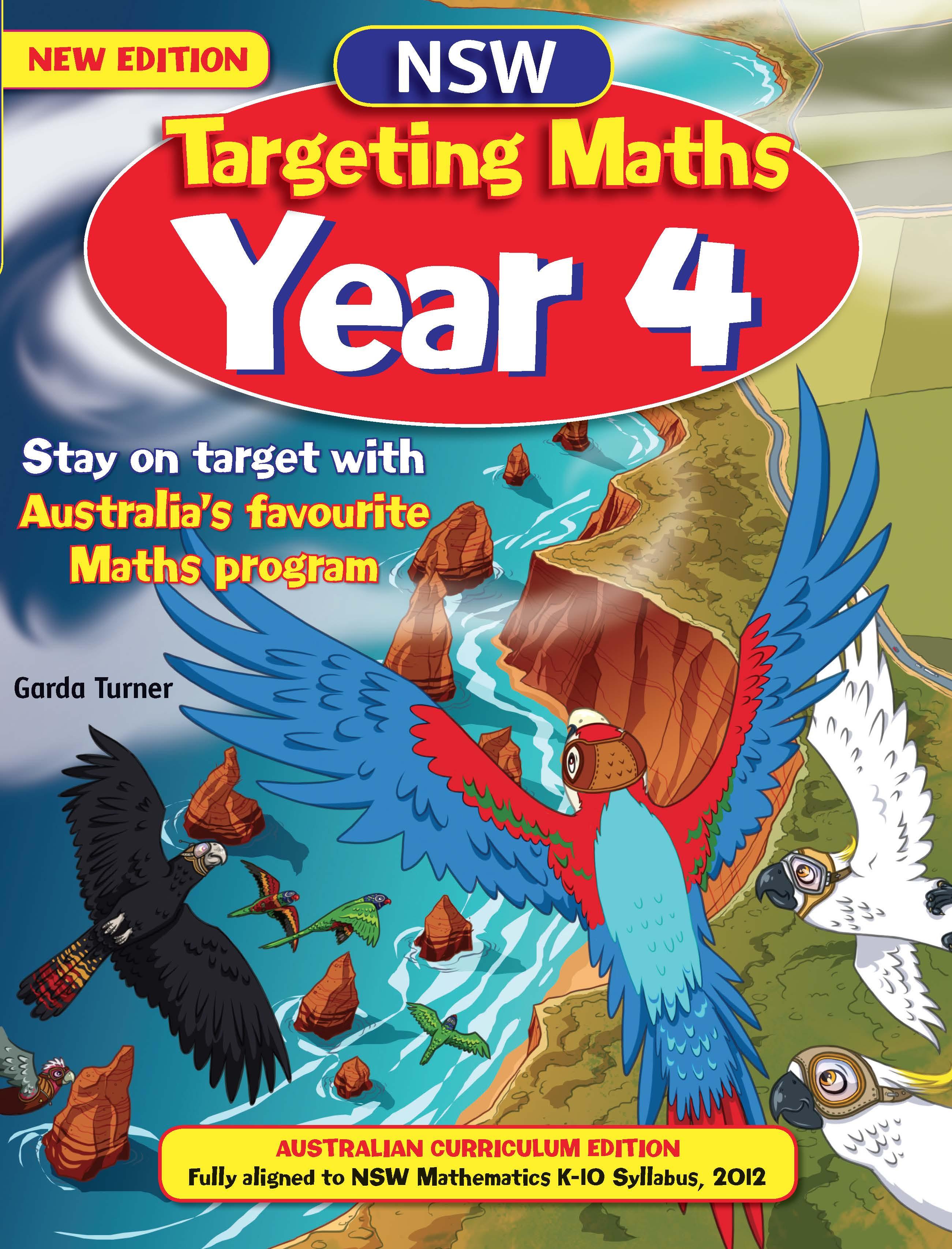 NSW Targeting Maths Australian Curriculum Edition Student Book Year 4