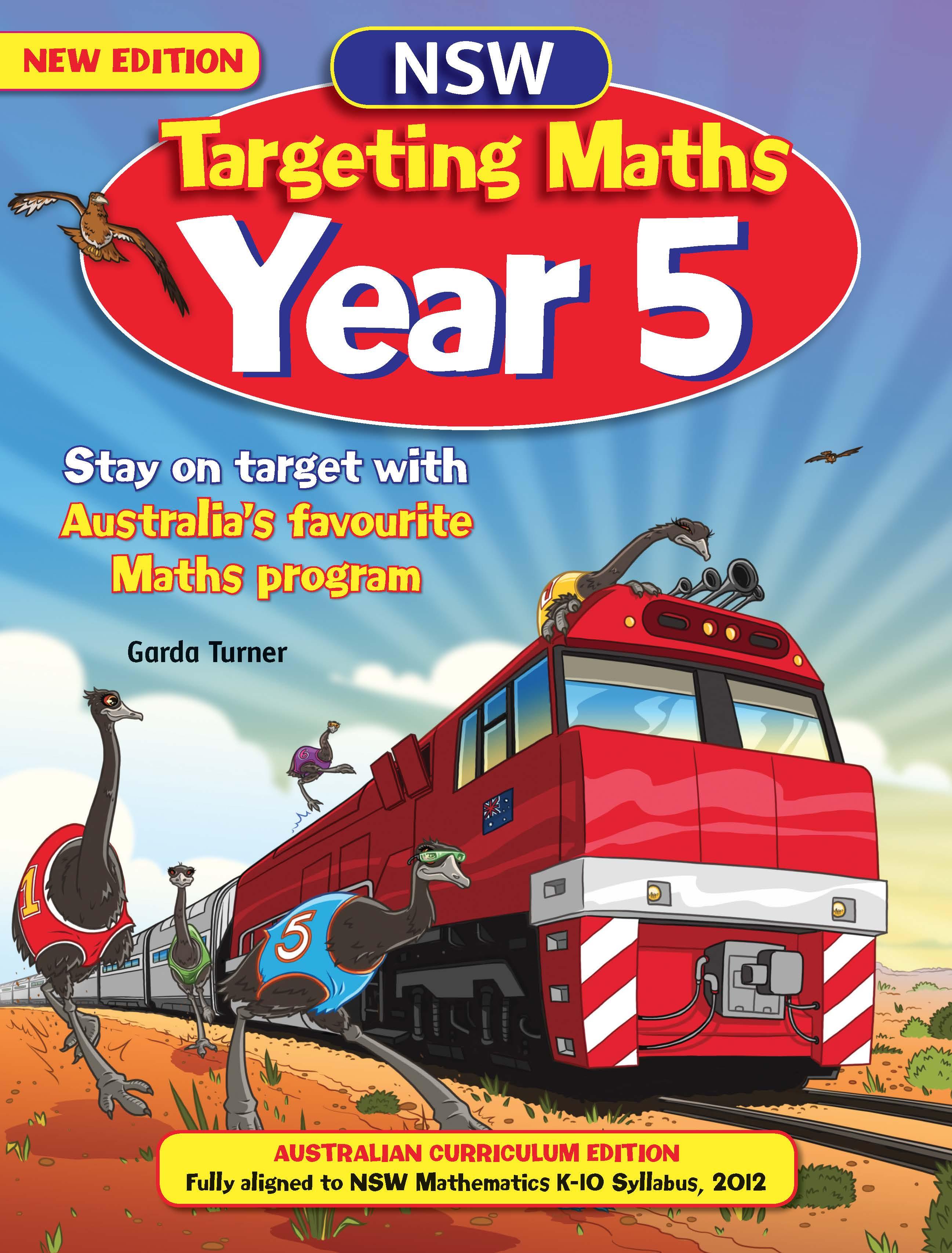 NSW Targeting Maths Australian Curriculum Edition Student Book Year 5