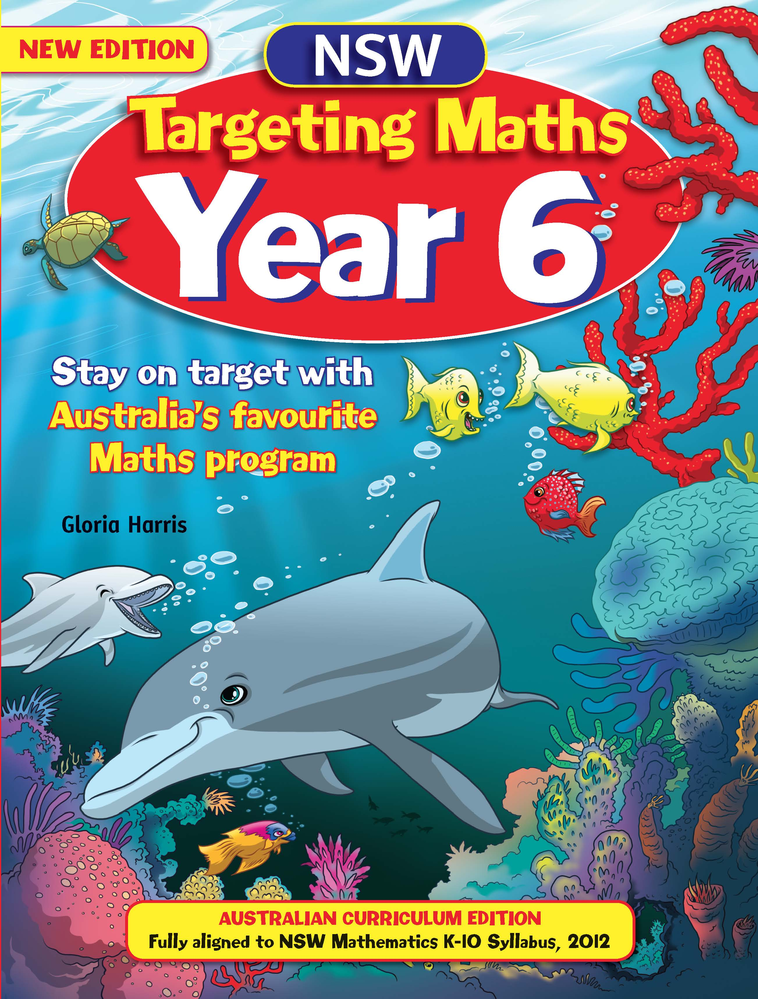 NSW Targeting Maths Australian Curriculum Edition Student Book Year 6