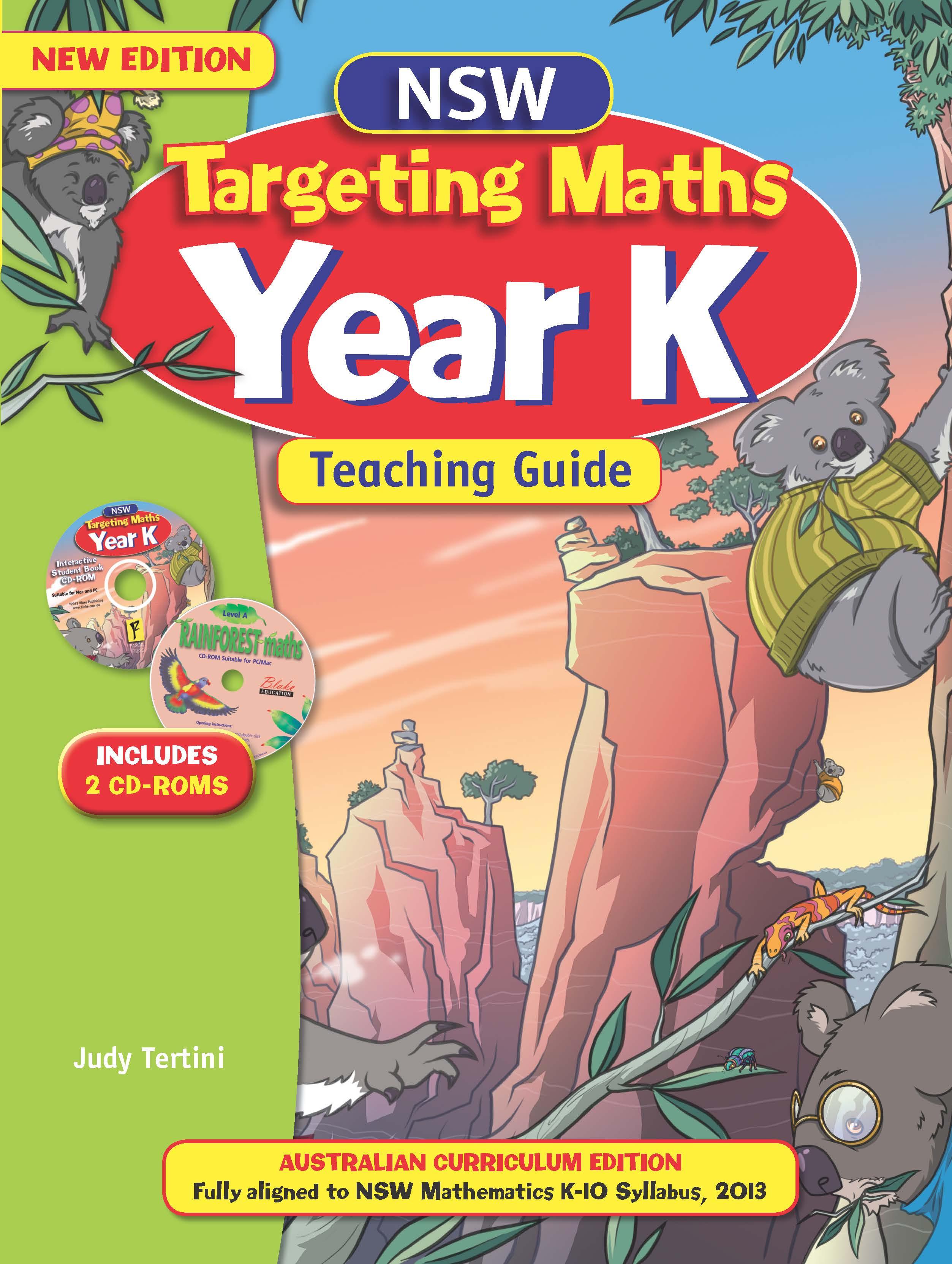 NSW Targeting Maths Australian Curriculum Teaching Guide Year K