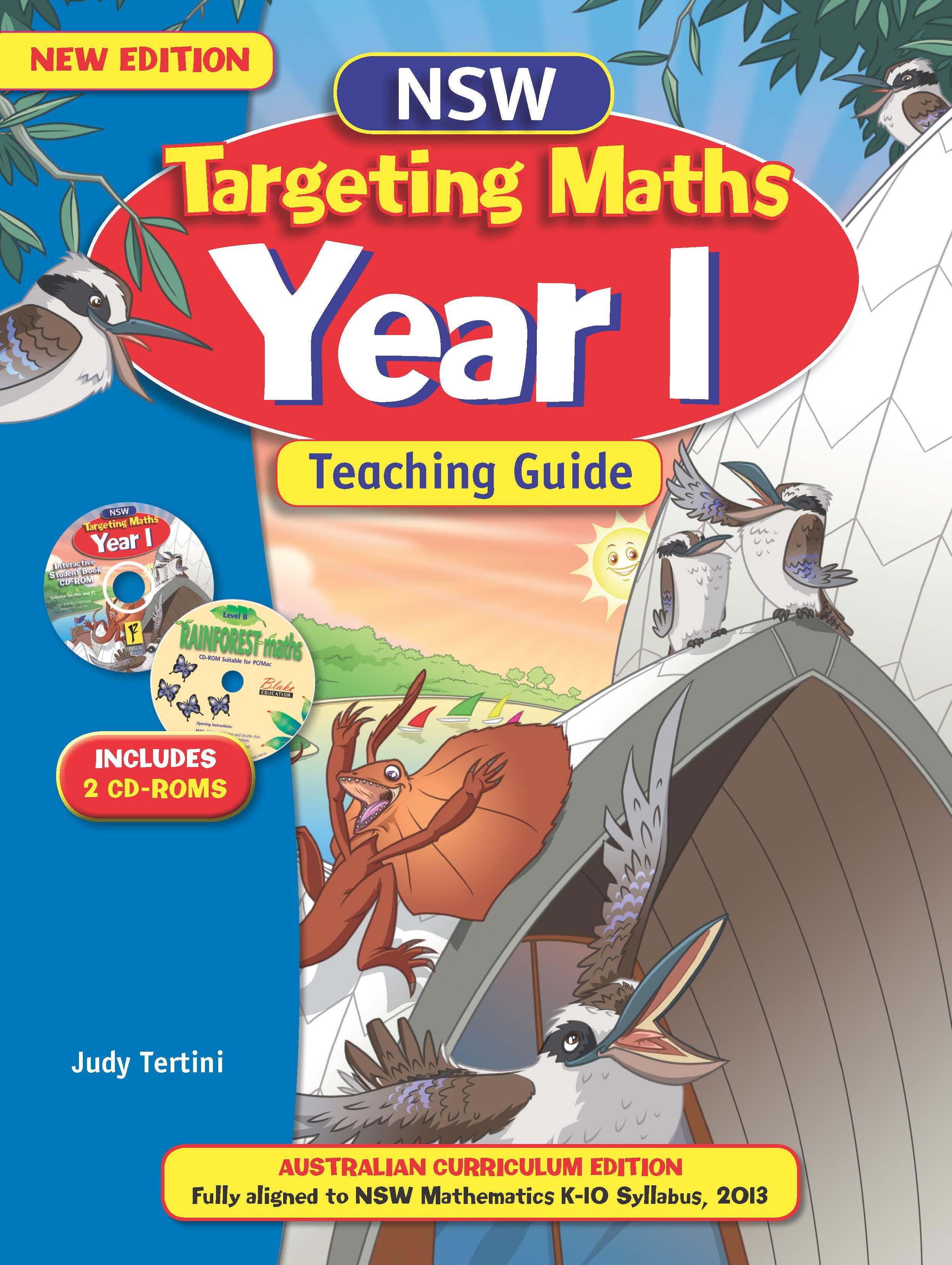 NSW Targeting Maths Australian Curriculum Teaching Guide Year 1