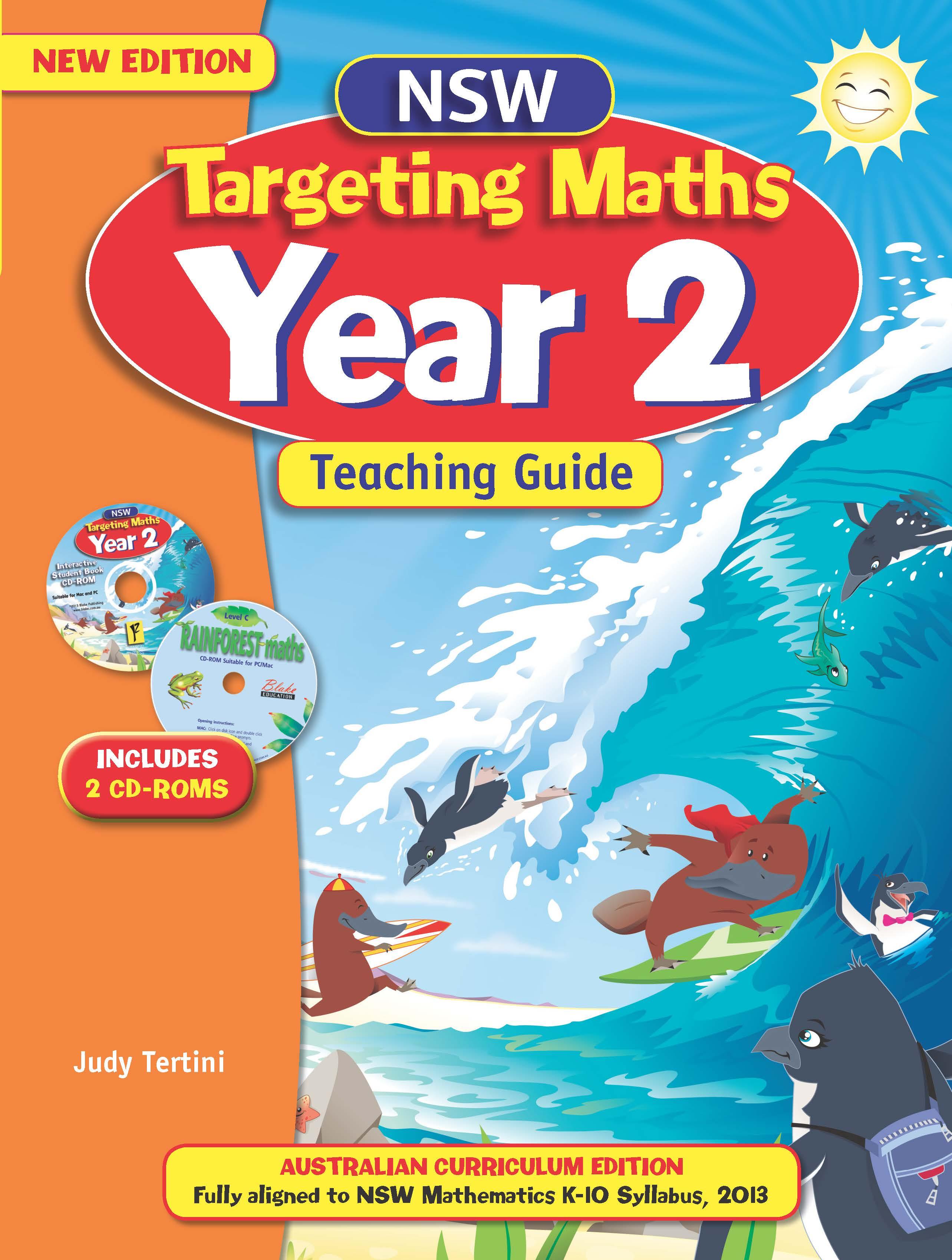 NSW Targeting Maths Australian Curriculum Teaching Guide Year 2