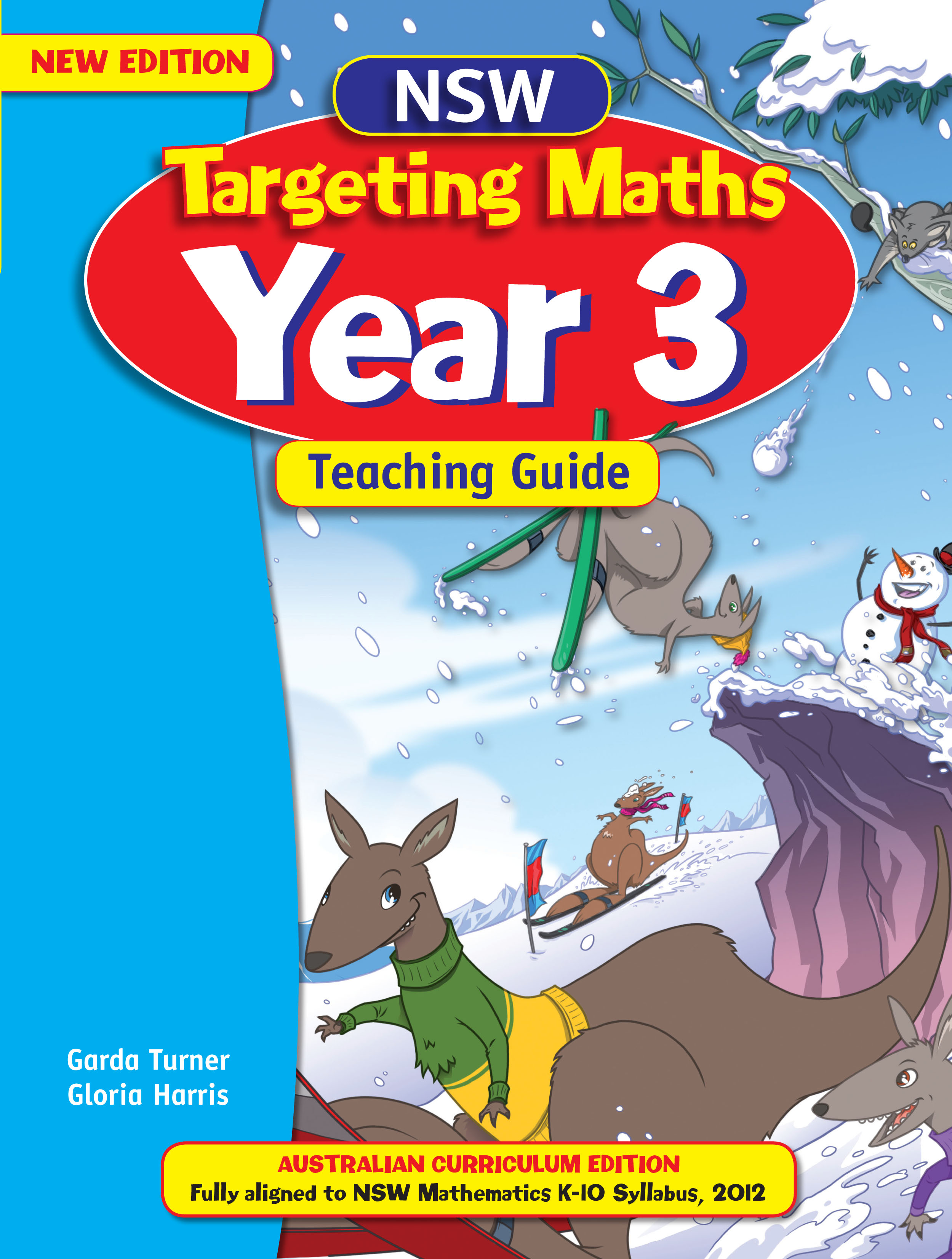 NSW Targeting Maths Australian Curriculum Teaching Guide Year 3