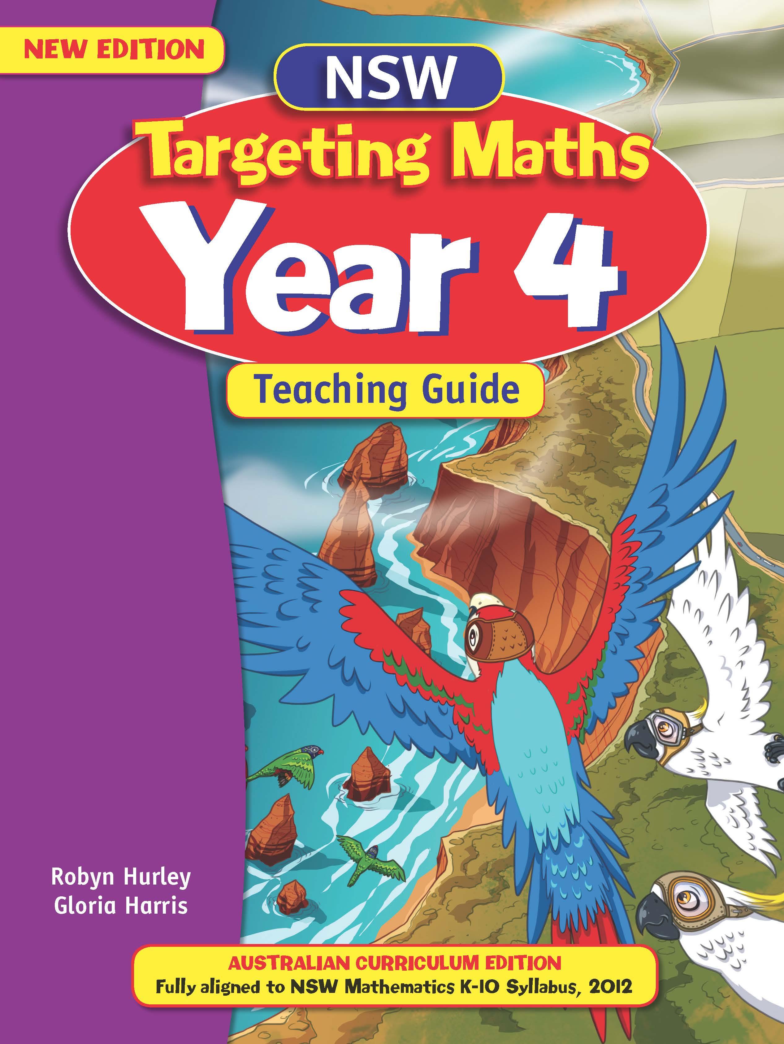 NSW Targeting Maths Australian Curriculum Teaching Guide Year 4