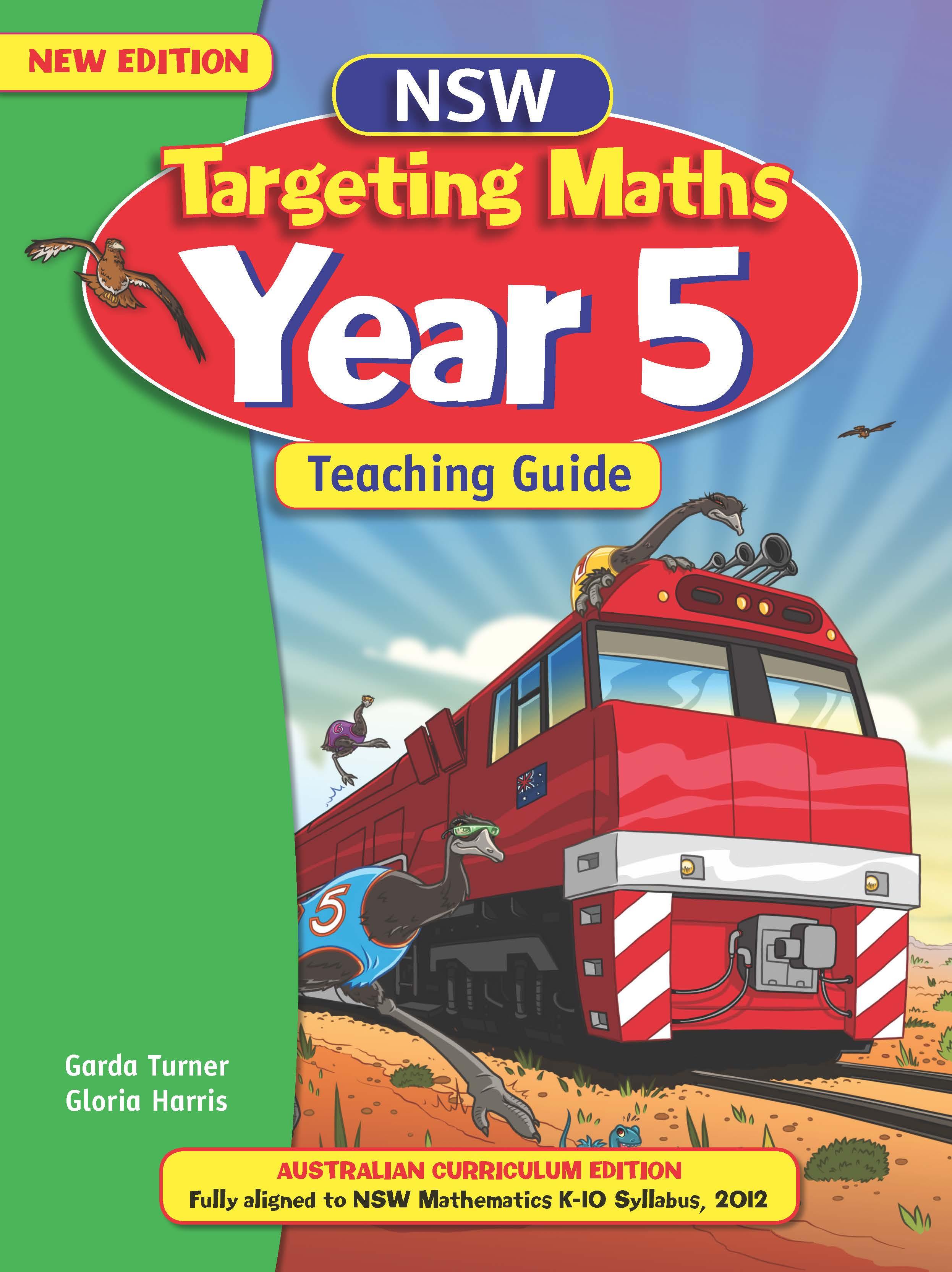 NSW Targeting Maths Australian Curriculum Teaching Guide Year 5