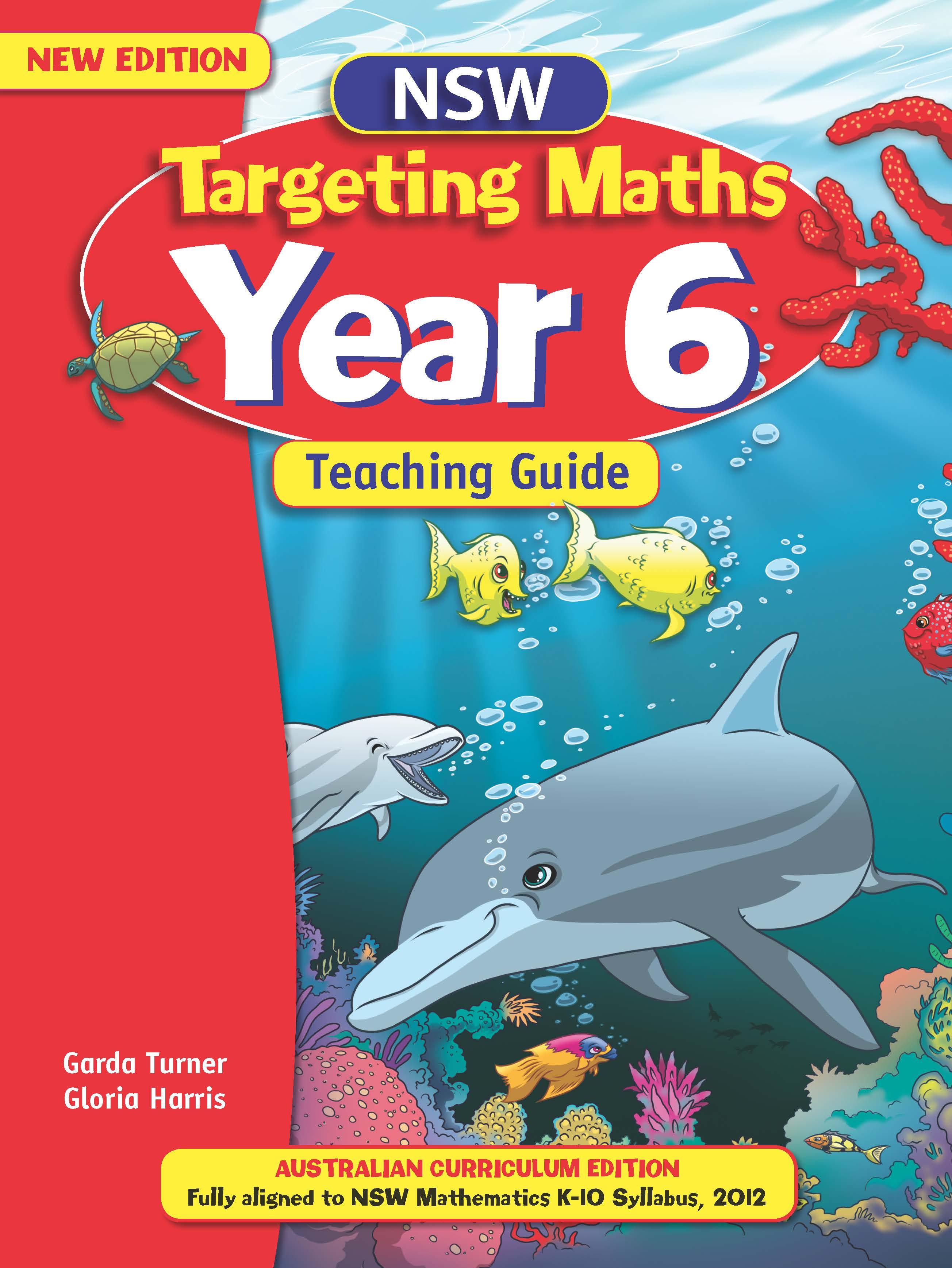 NSW Targeting Maths Australian Curriculum Teaching Guide Year 6