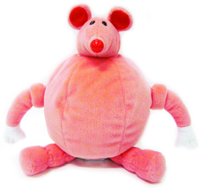 Picture of ABC Reading Eggs Hand Puppet Marshmallow Mouse