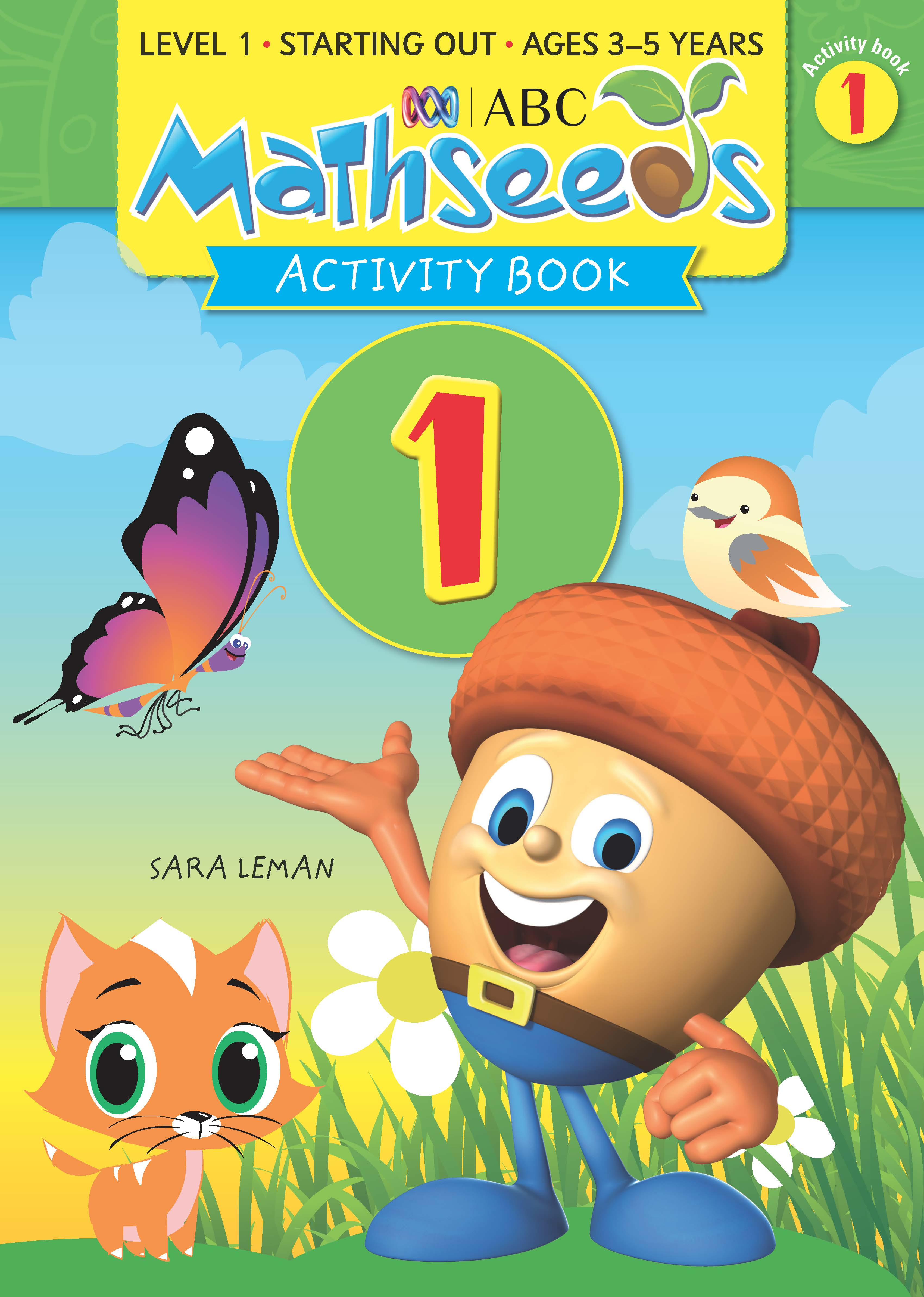 ABC Mathseeds Activity Book 1 Level 1 Ages 3-5