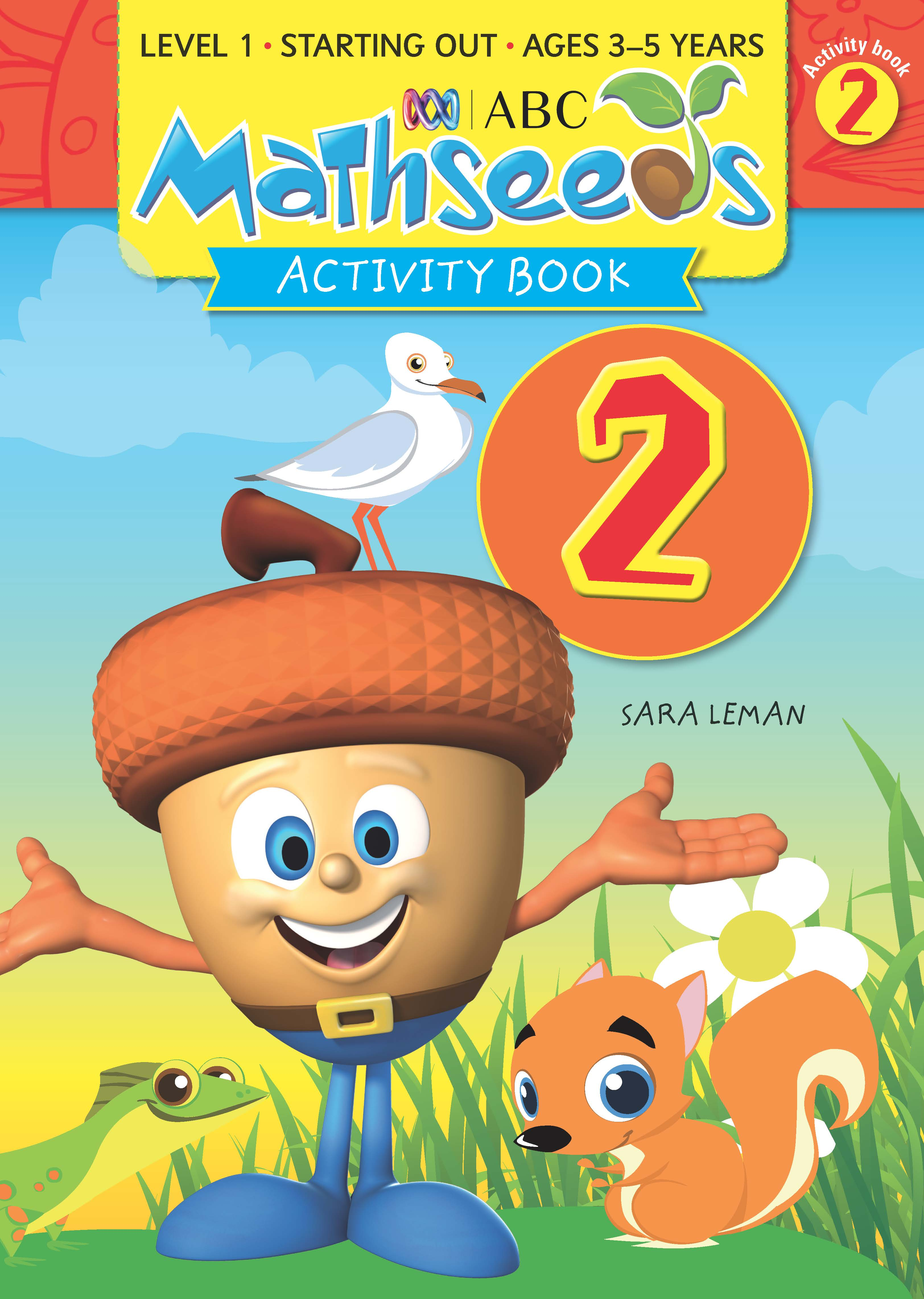 ABC Mathseeds Activity Book 2 Level 1 Ages 3-5