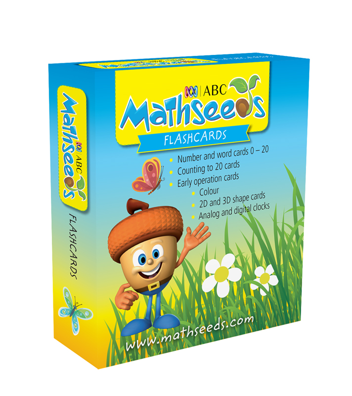 ABC Mathseeds Flashcards Ages 4-6