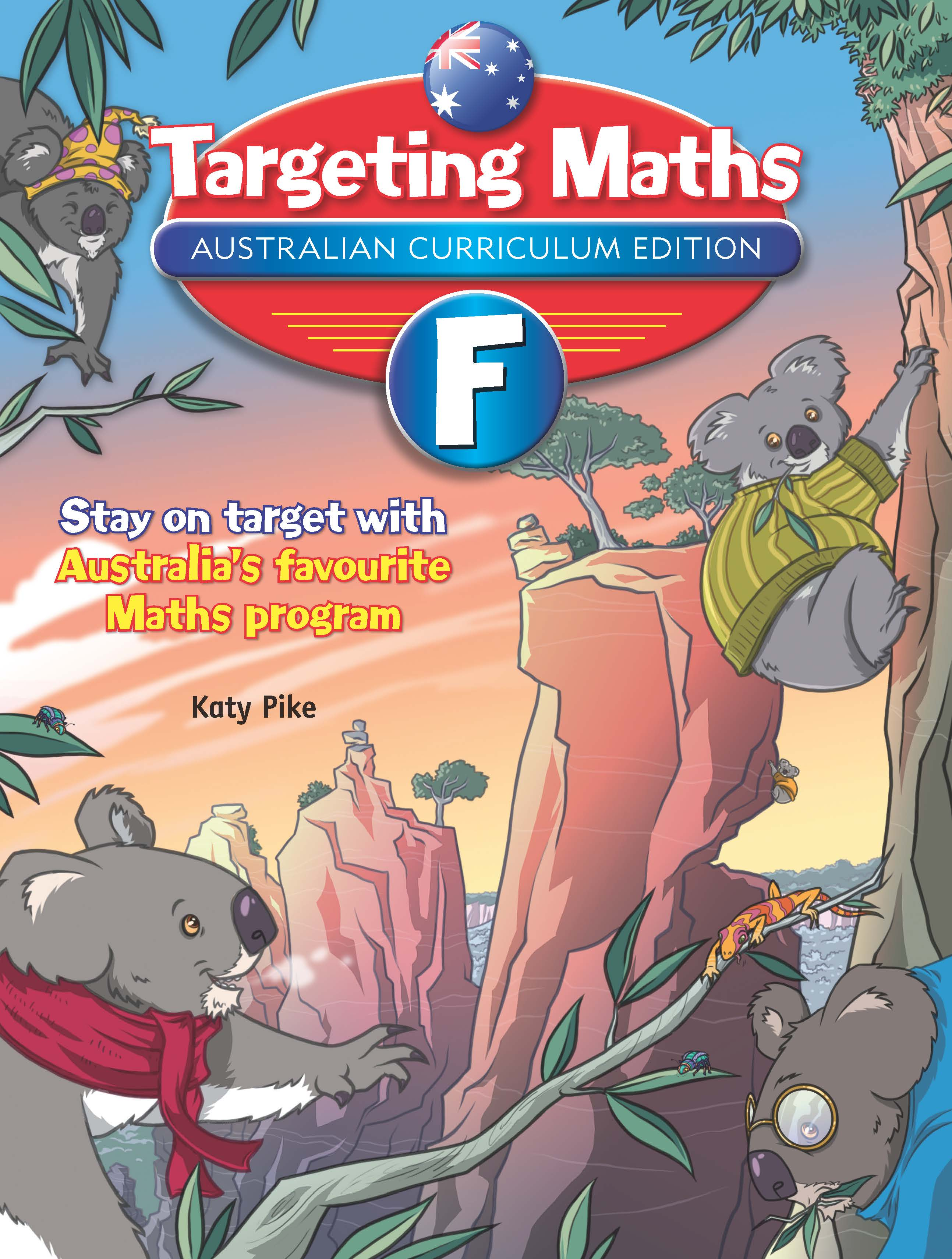 Targeting Maths Australian Curriculum Edition Student Book Foundation
