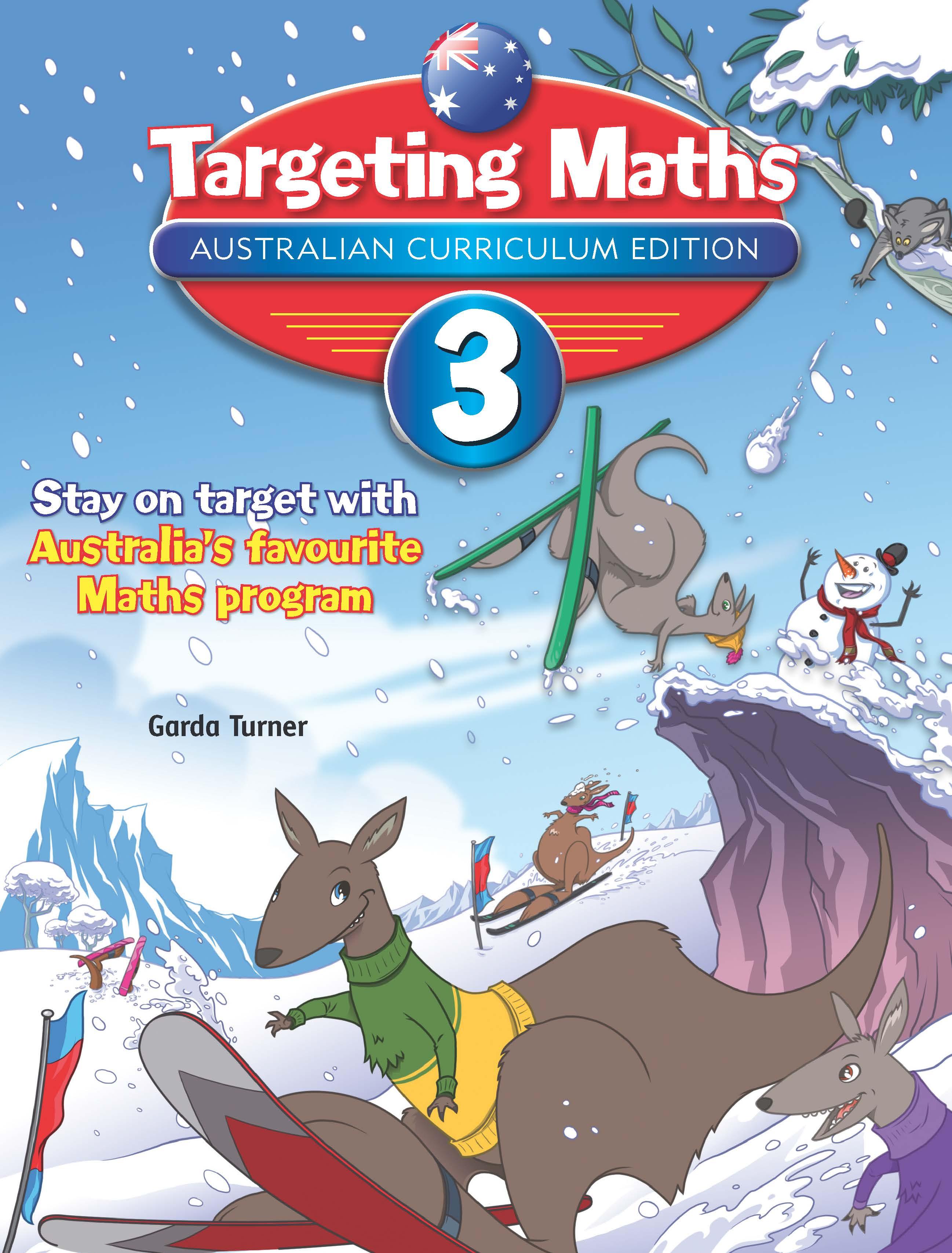 Targeting Maths Australian Curriculum Edition Student Book Year 3