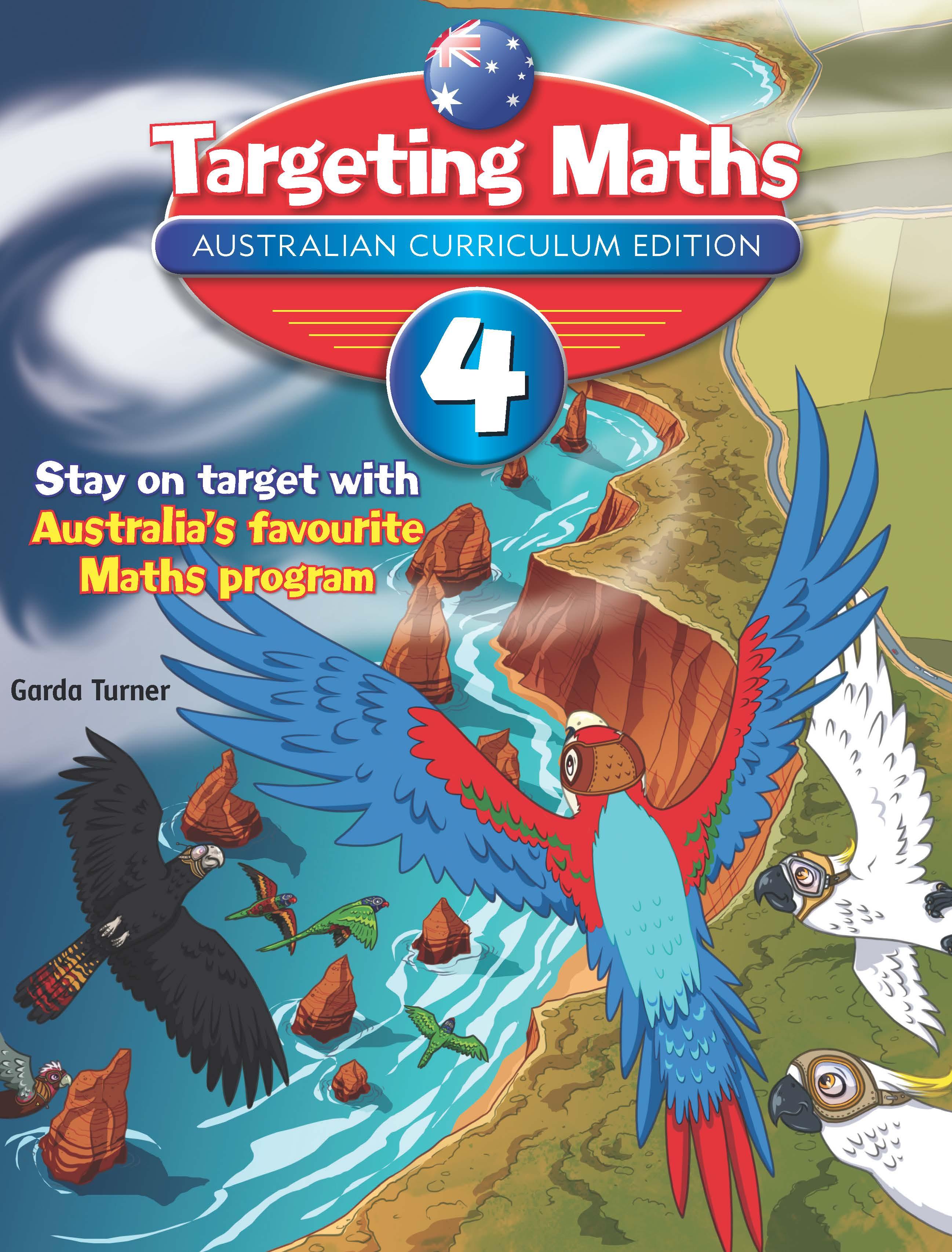 Targeting Maths Australian Curriculum Edition Student Book Year 4