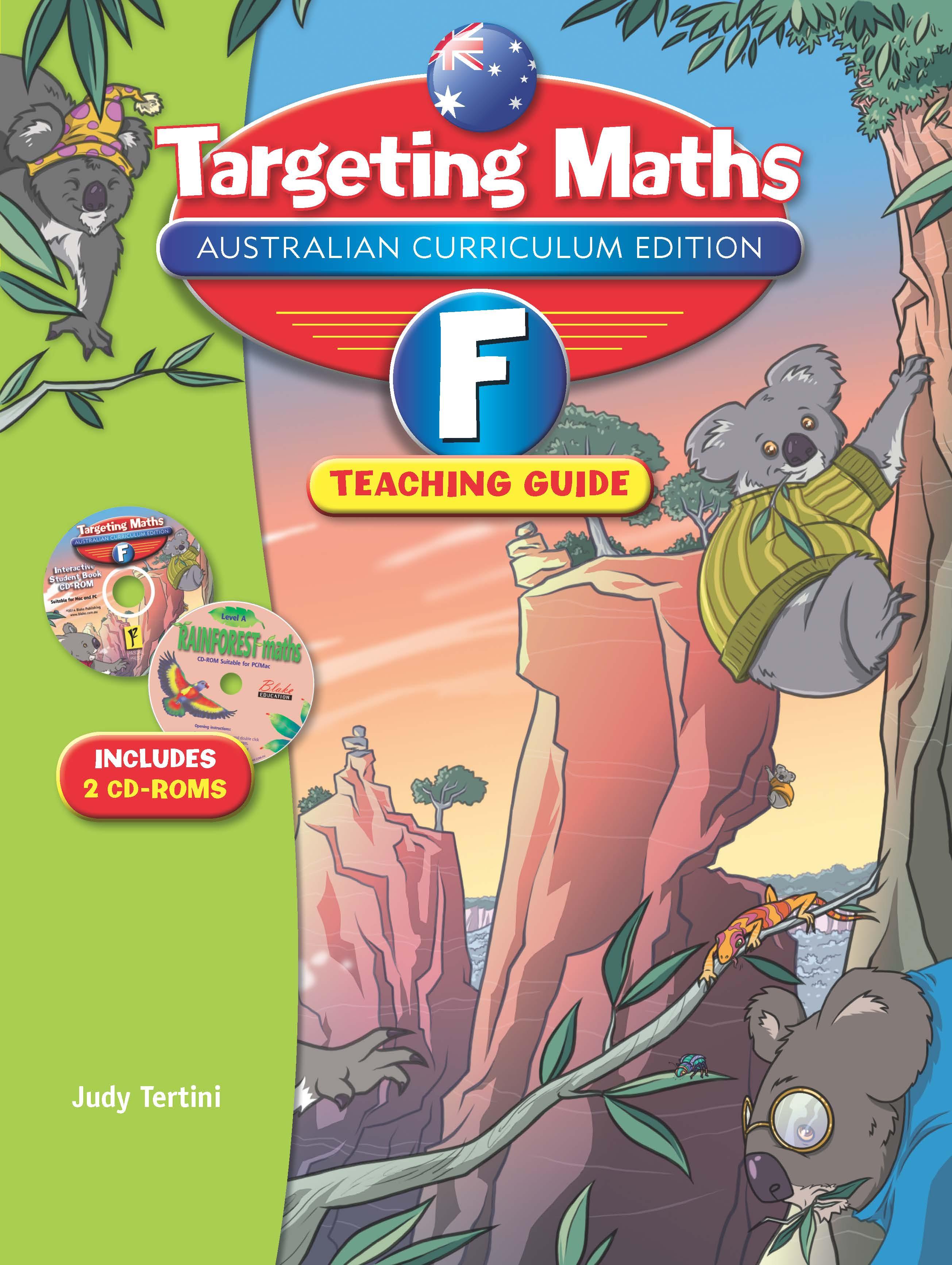 Targeting Maths Australian Curriculum Edition Teaching Guide Foundation