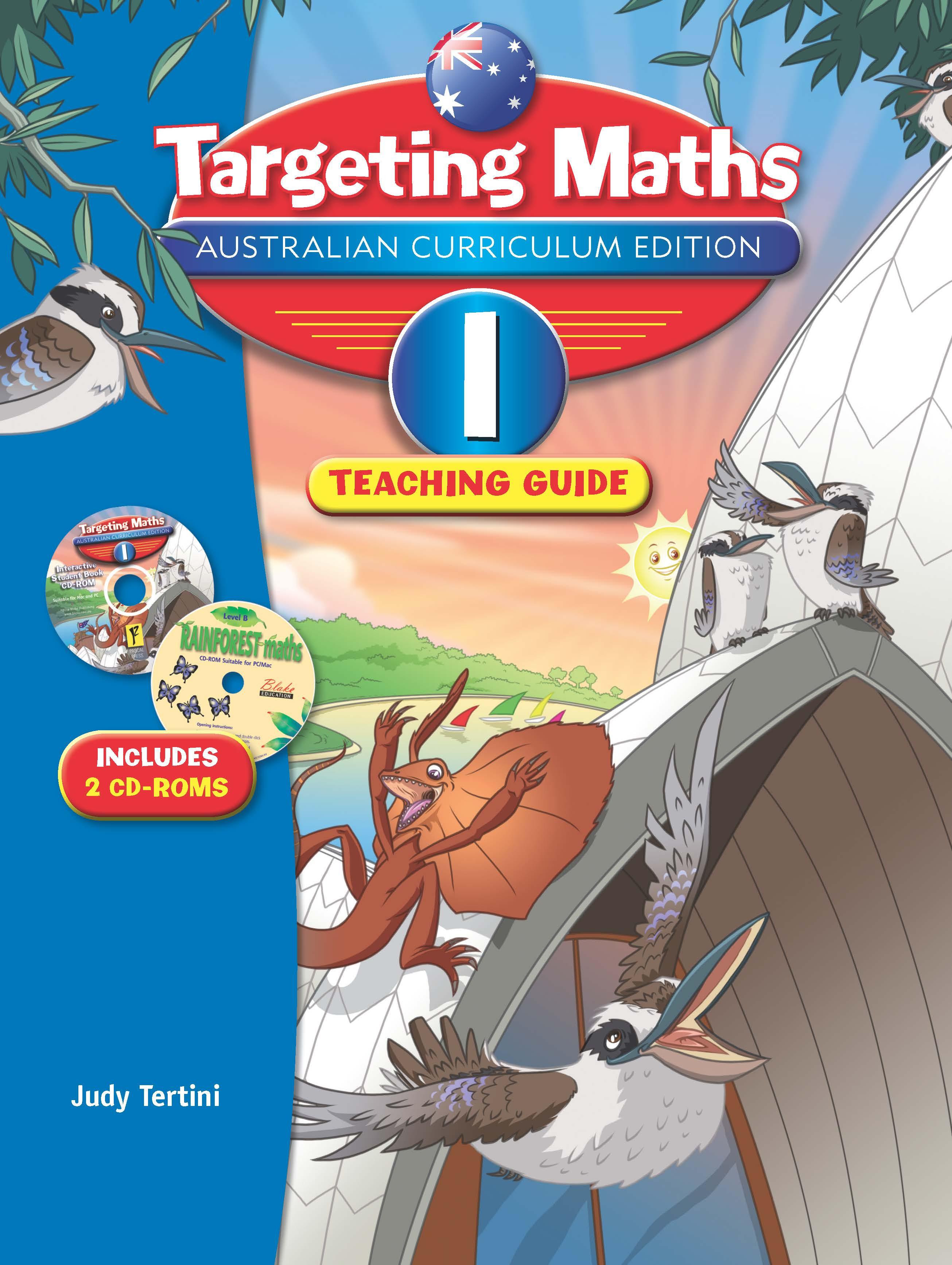 Targeting Maths Australian Curriculum Edition Teaching Guide Year 1