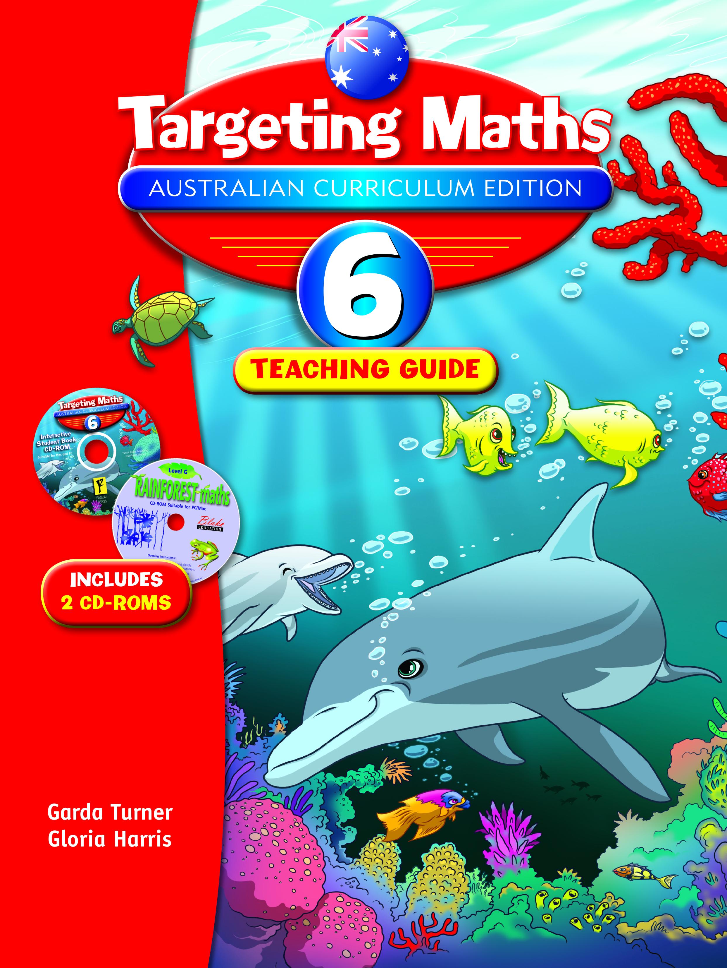 Targeting Maths Australian Curriculum Edition Teaching Guide Year 6
