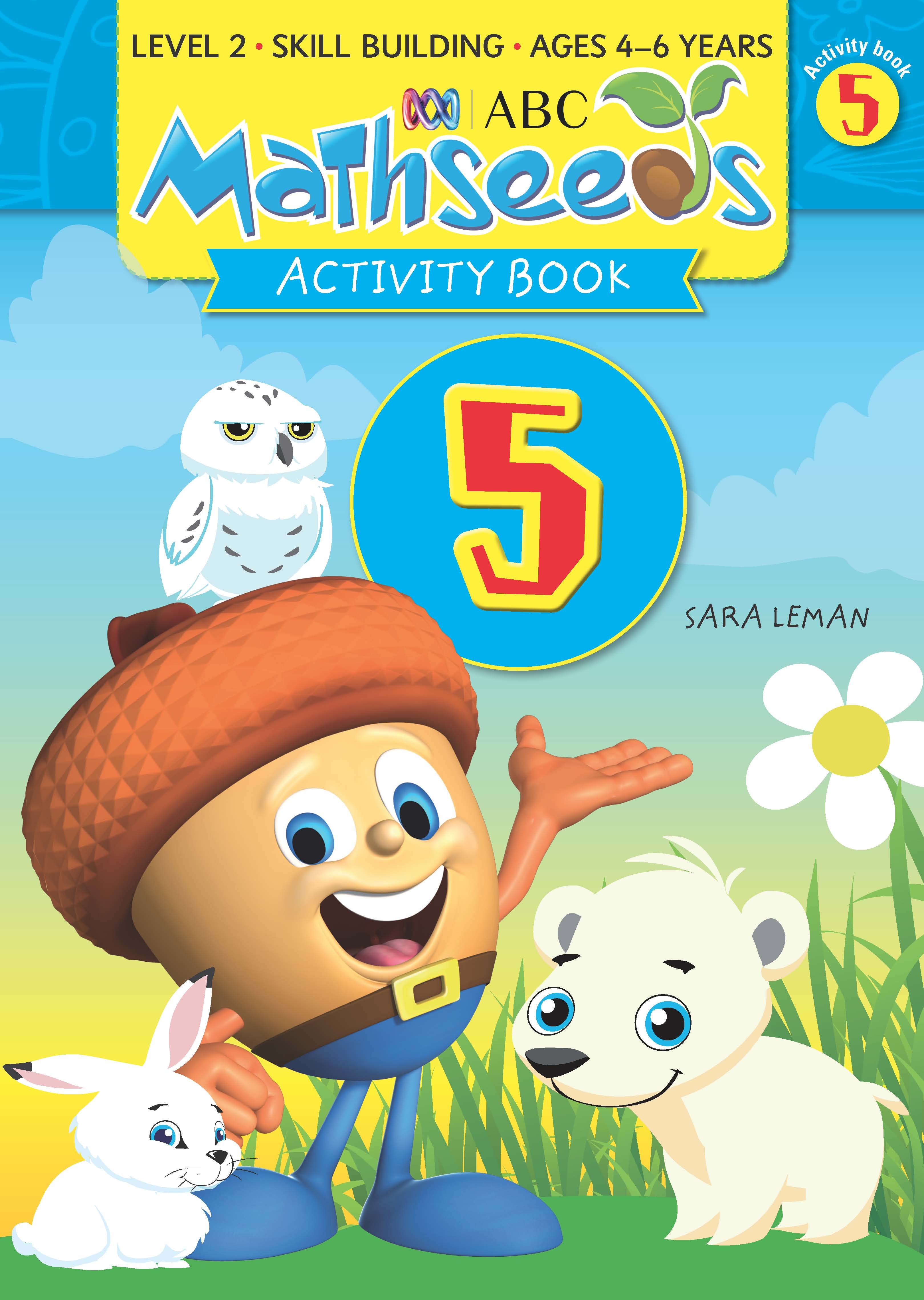 ABC Mathseeds Activity Book 5 Level 2 Ages 4-6