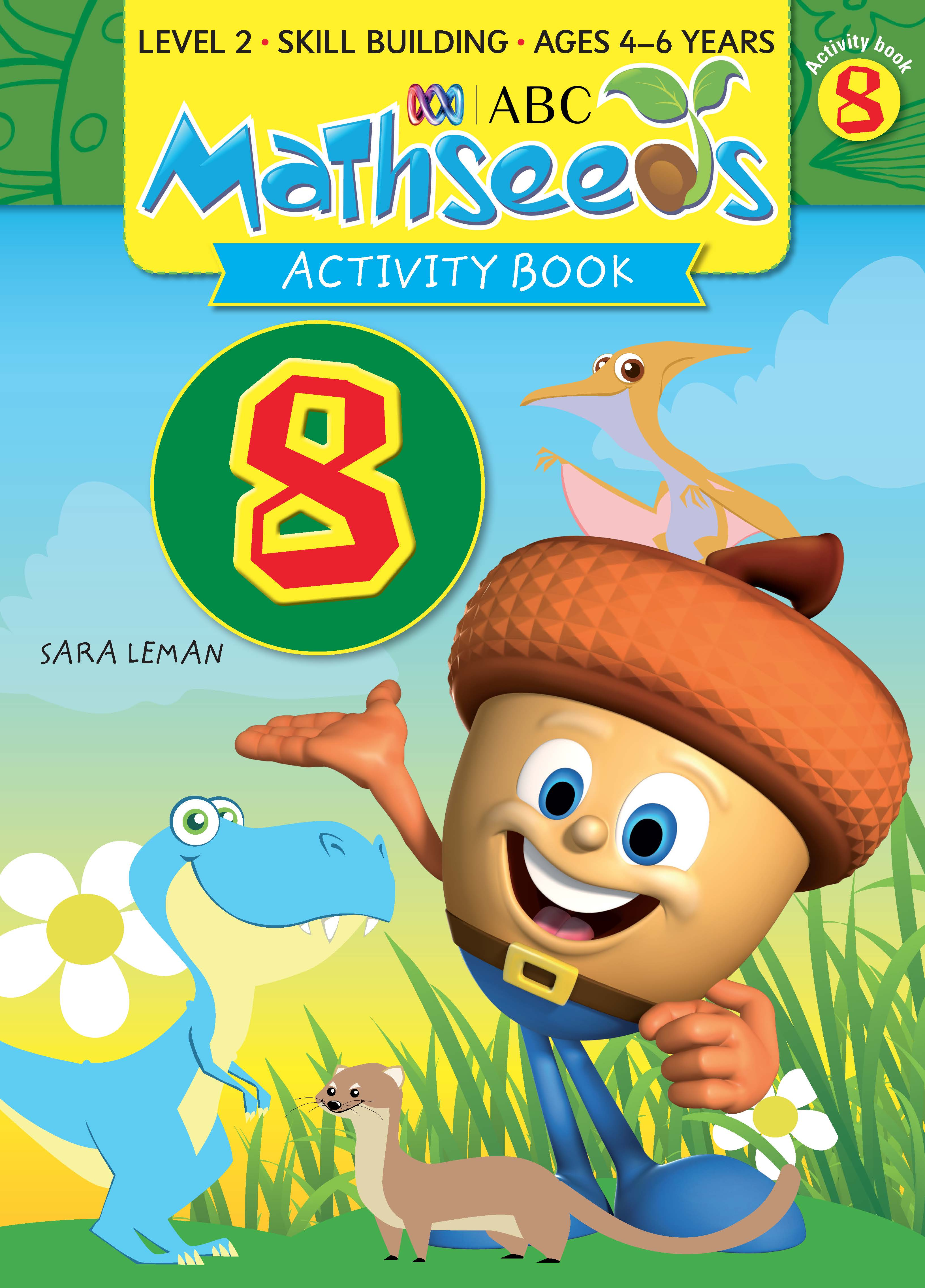 ABC Mathseeds Activity Book 8 Level 2 Ages 4-6