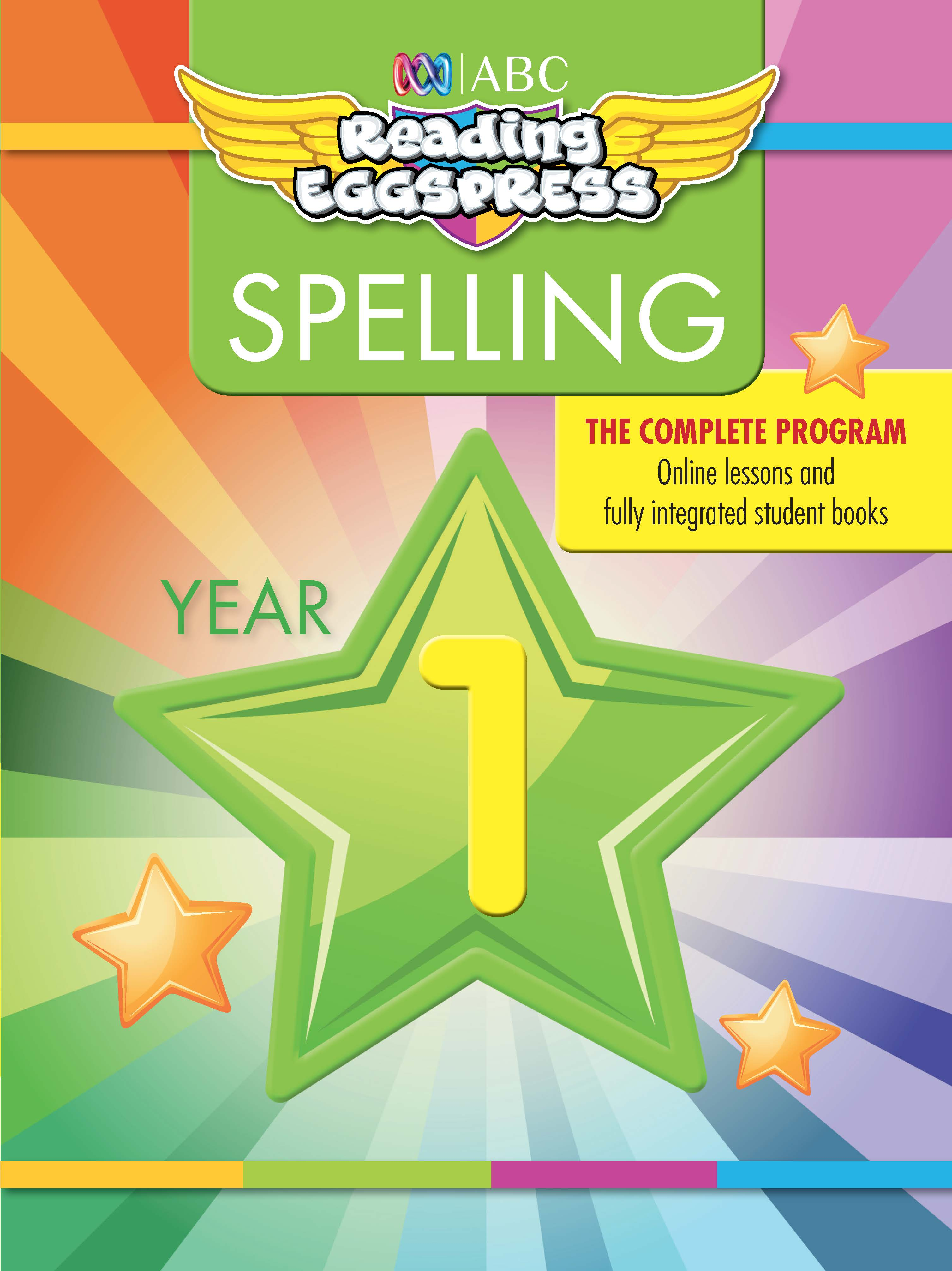 ABC Reading Eggspress Spelling Workbook Year 1